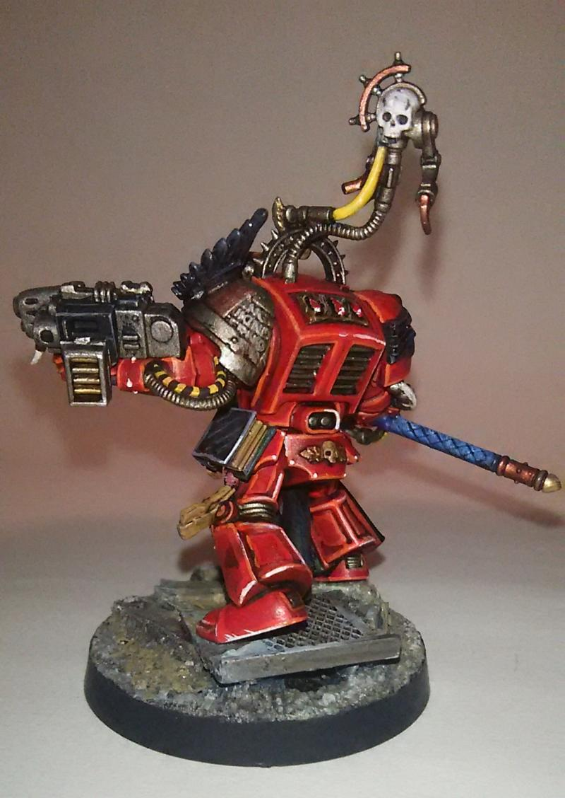 Blood Angels, Space Marines, Terminator Armor, Warhammer 40,000