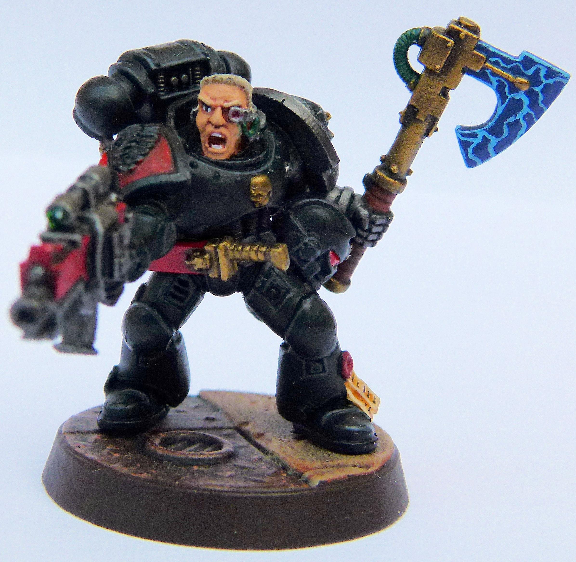 Blood Angel Deathwatch Veteran Front