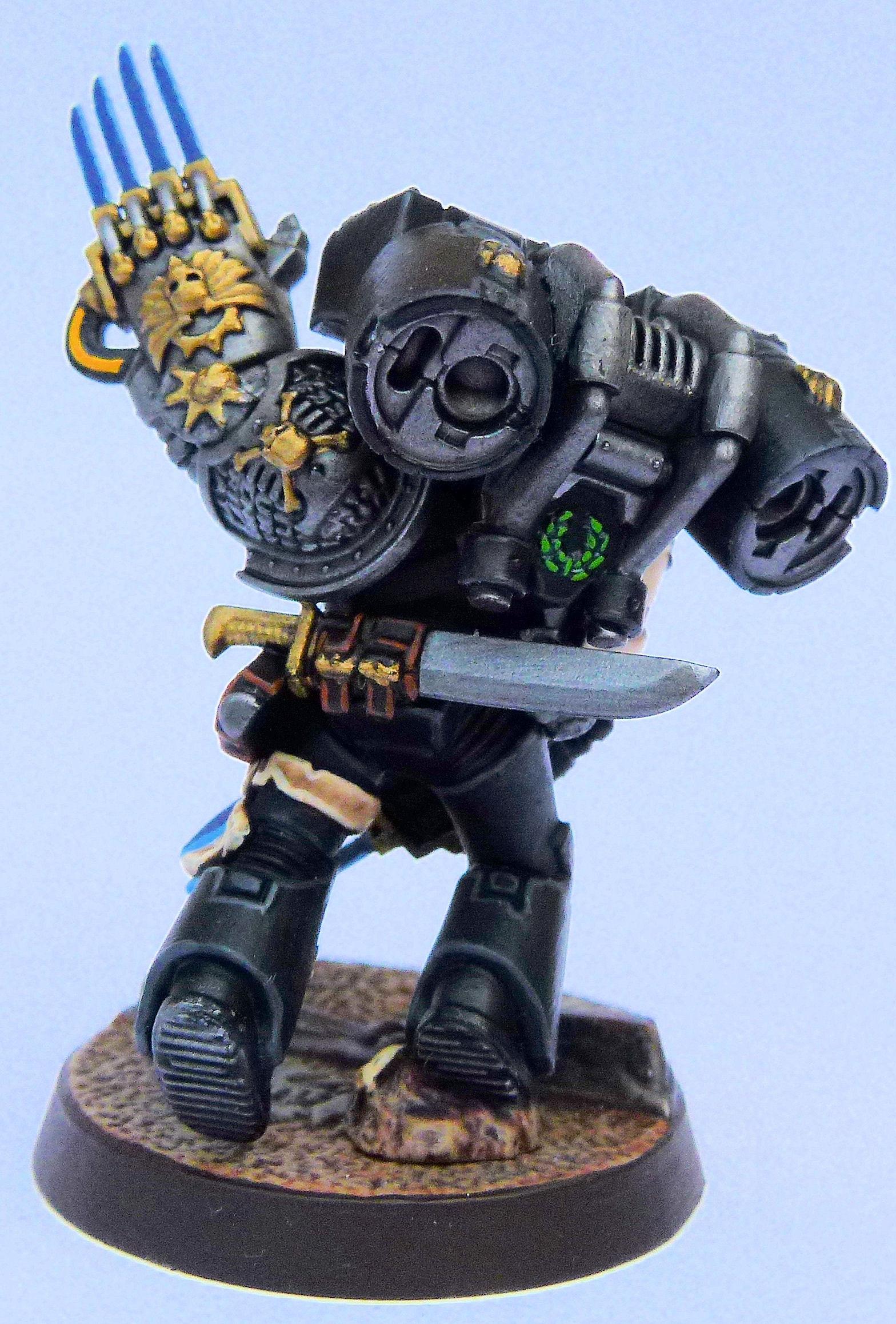 Tauran Deathwatch Veteran Rear