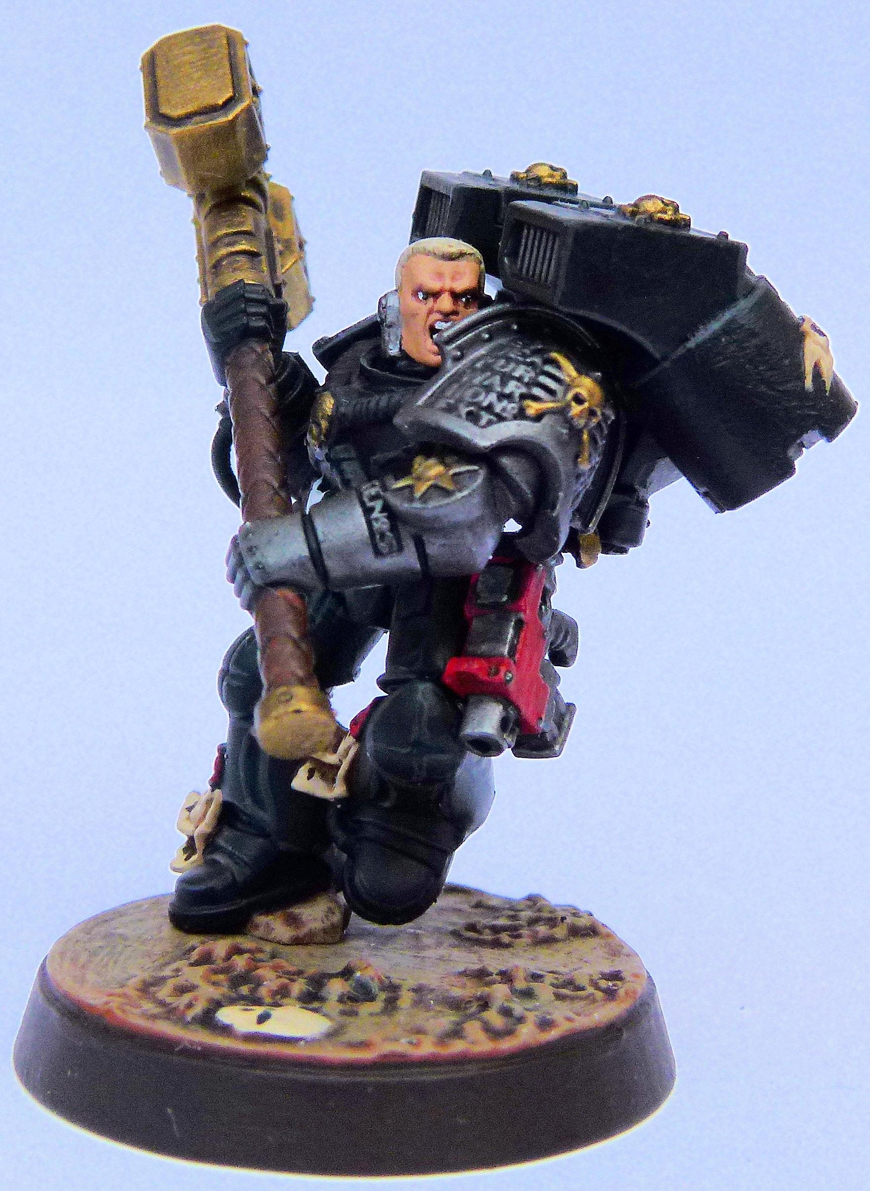 Black Templar Deathwatch Veteran Front