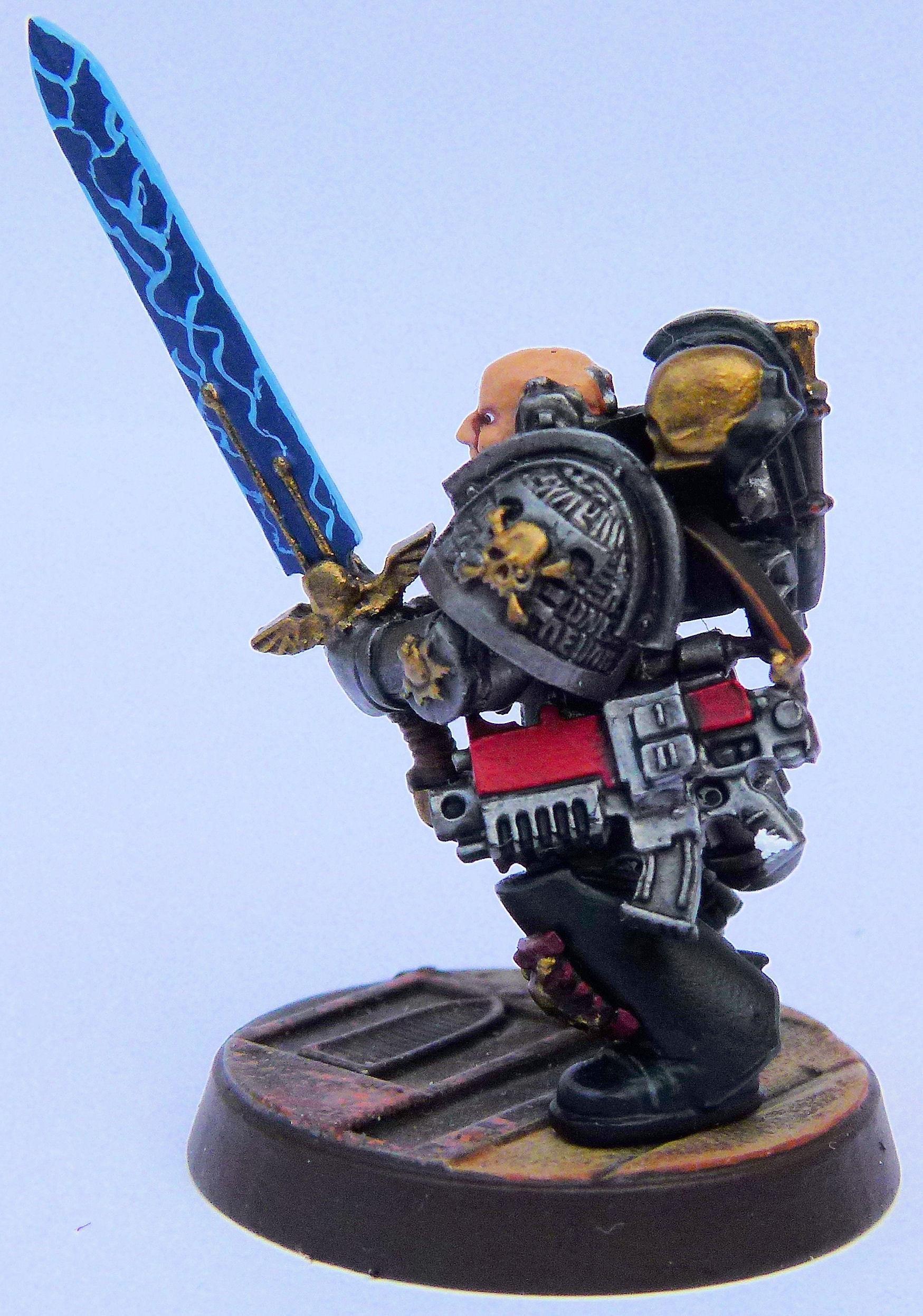 Black Templar Deathwatch Veteran 2 Left