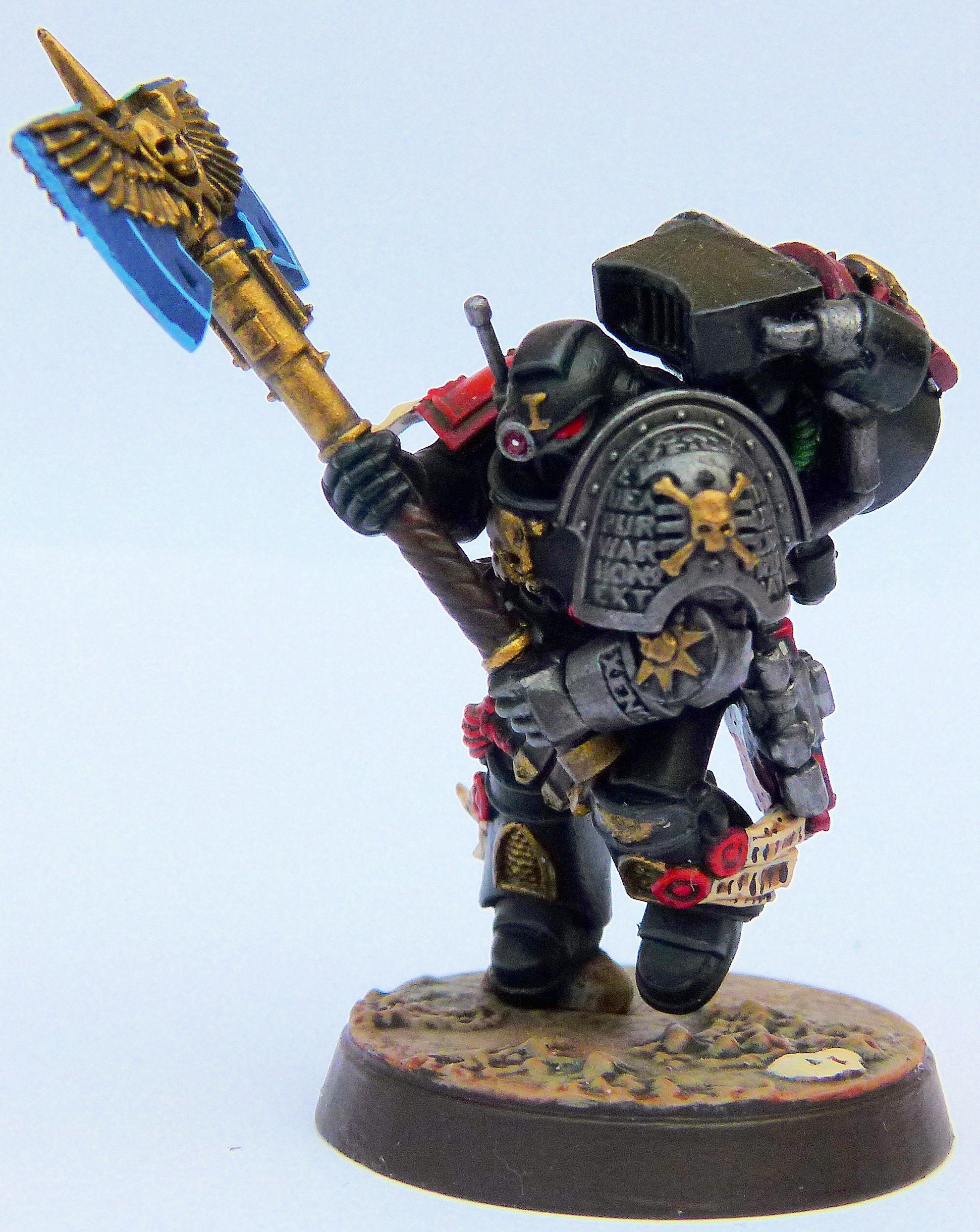 Blood Angel Deathwatch Veteran 2 Front