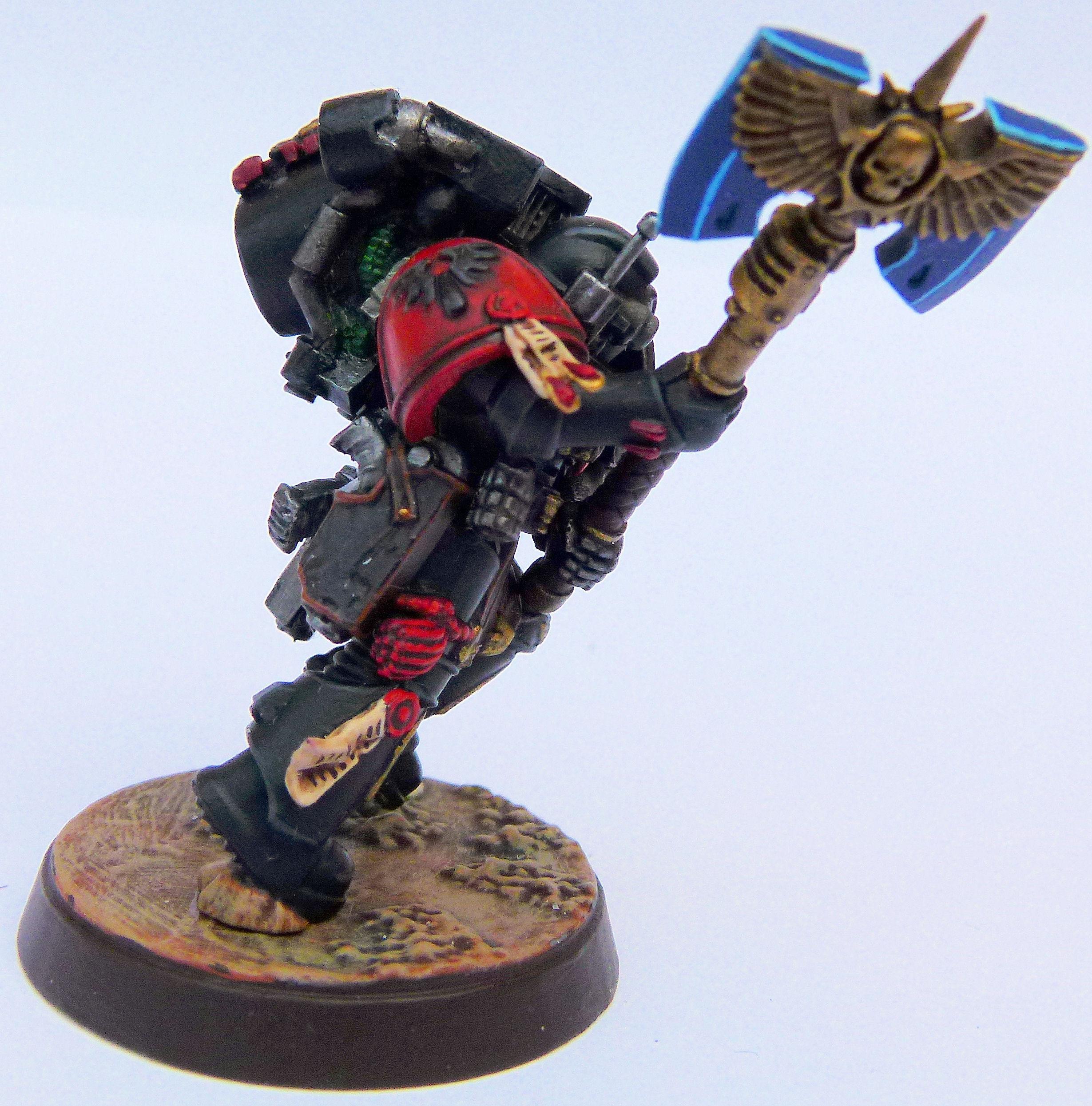 Blood Angel Deathwatch Veteran 2 Right