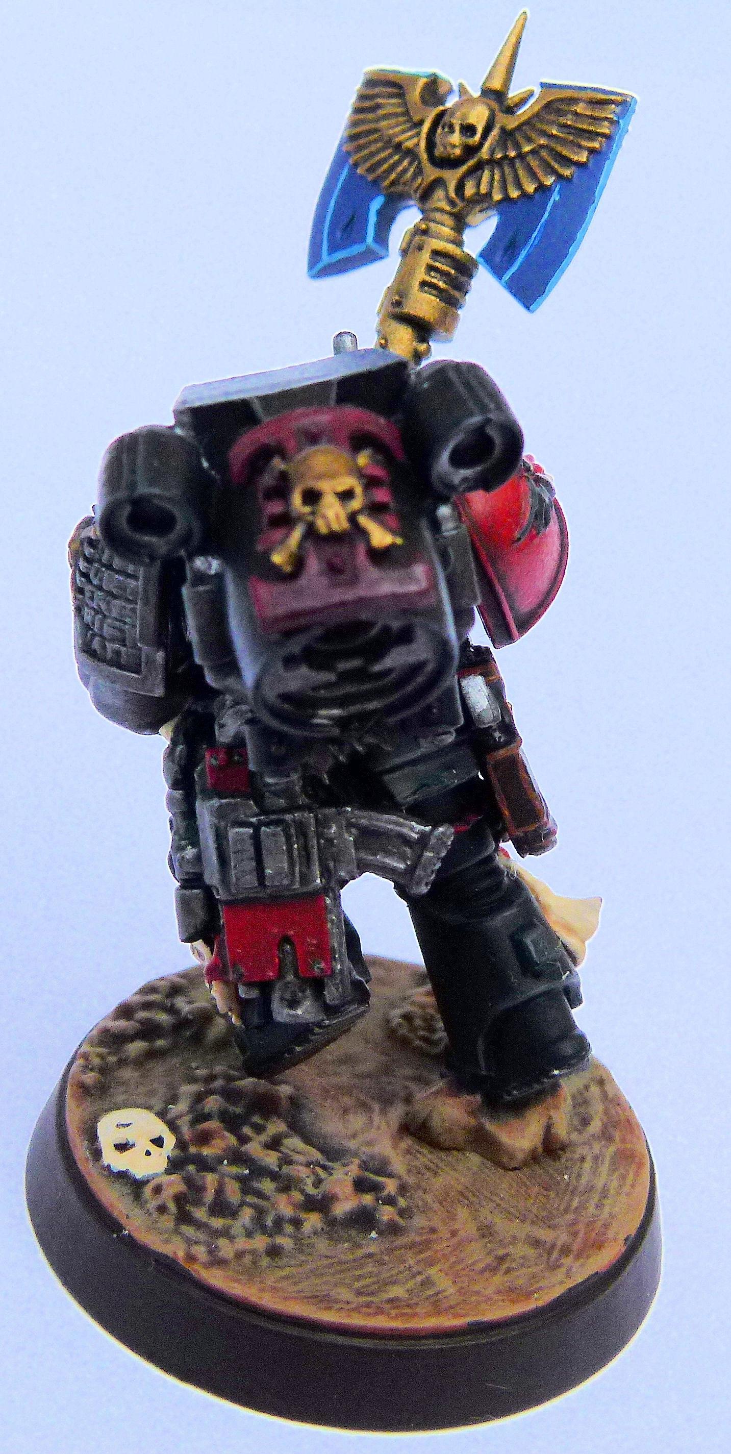 Blood Angel Deathwatch Veteran 2 Rear