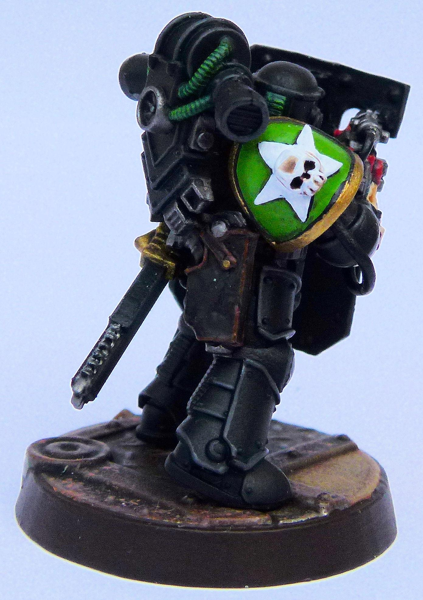 Invaders Deathwatch Veteran Chapter Badge