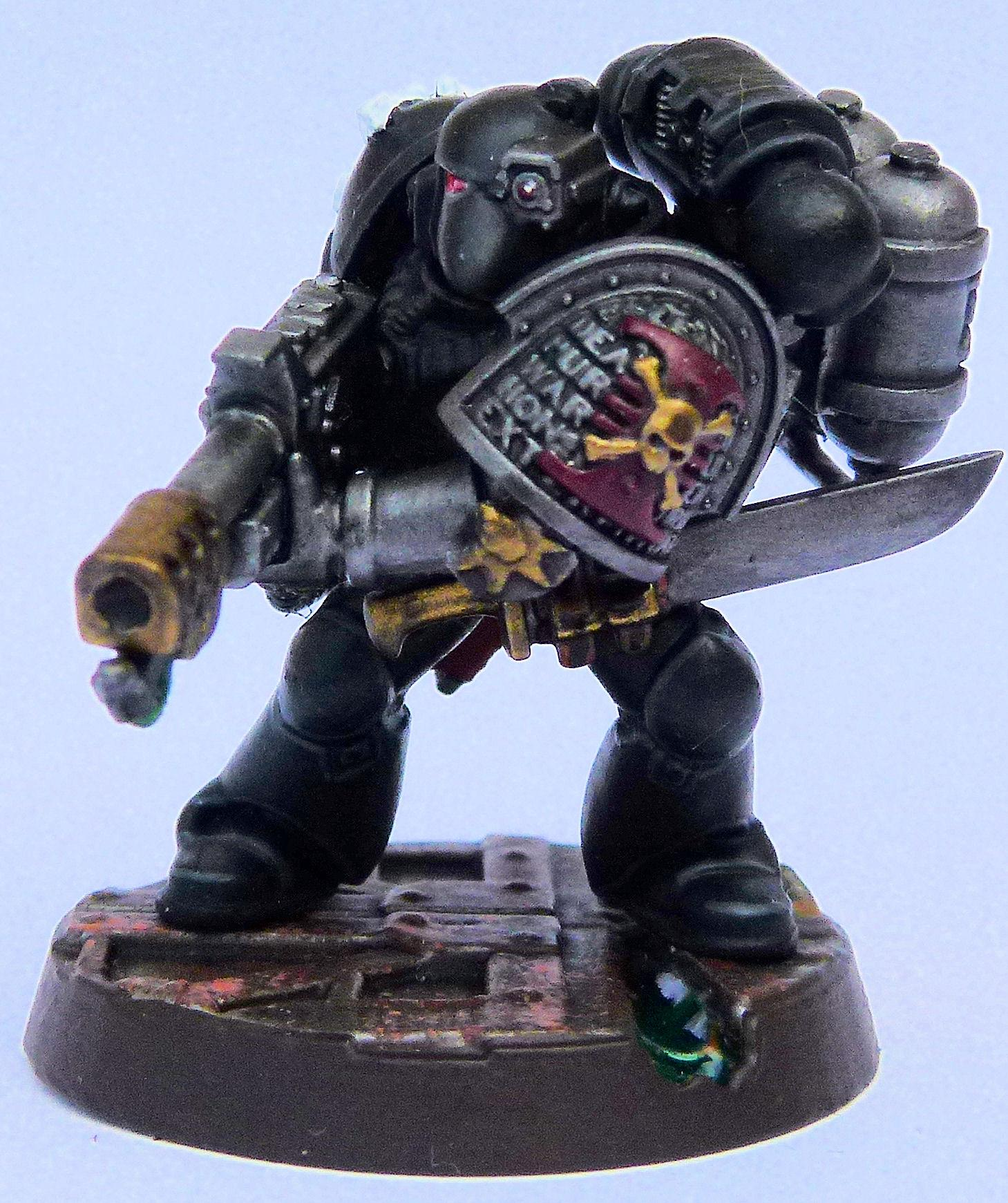 Sable Swords Deathwatch Veteran Front