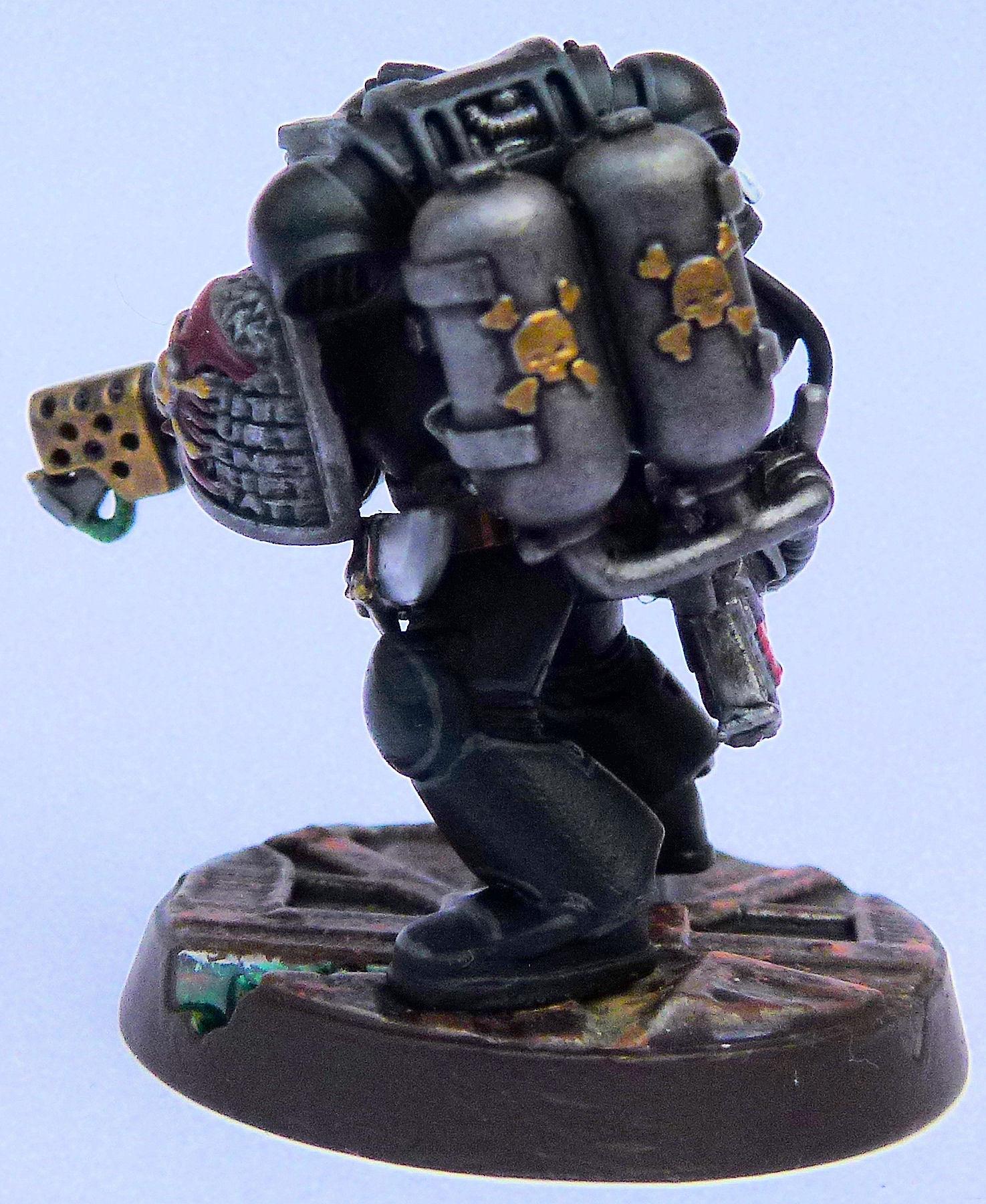 Sable Swords Deathwatch Veteran Rear