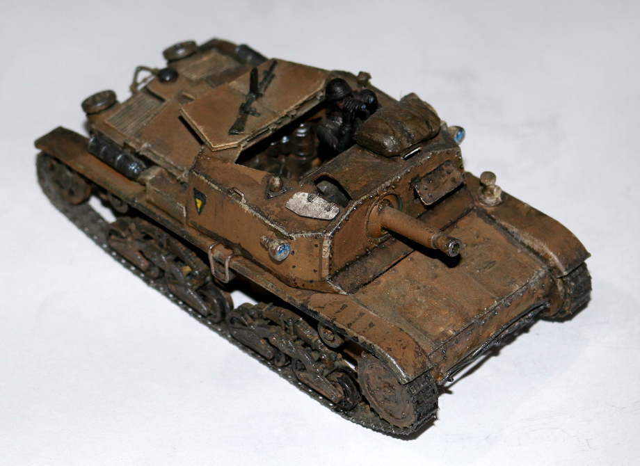 Armor, Italian, Miniature, Spg, Vehicle, World War 2