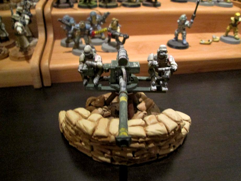 Aegis Line, Autocannon, Heavy Weapon, Imperial Guard, Wargames Foundry