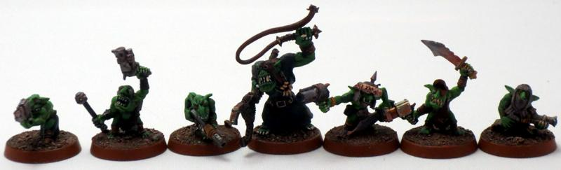 Captain Brown, Gretchin, Orks, Waaagh
