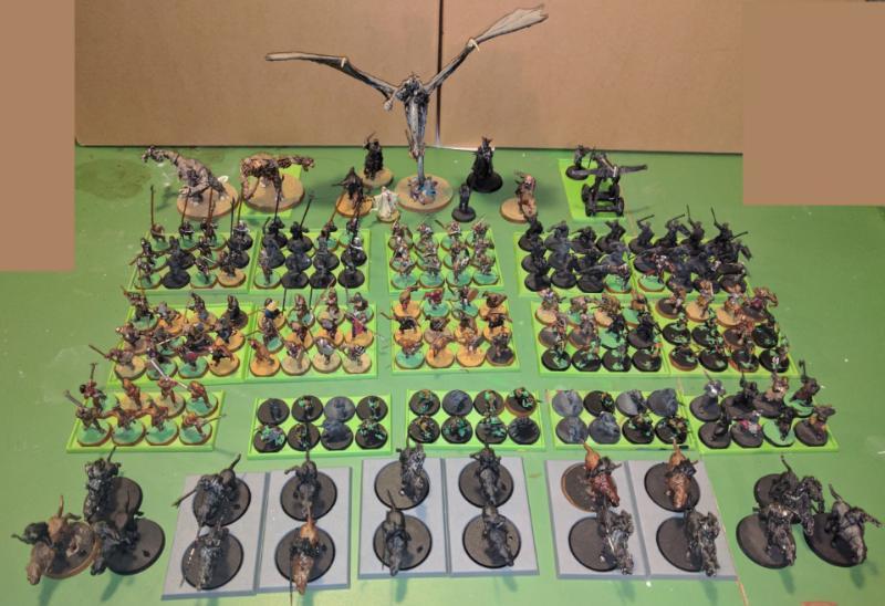 KINGS OF WAR Warhammer Wargaming Troop Movement Tray  25mm round