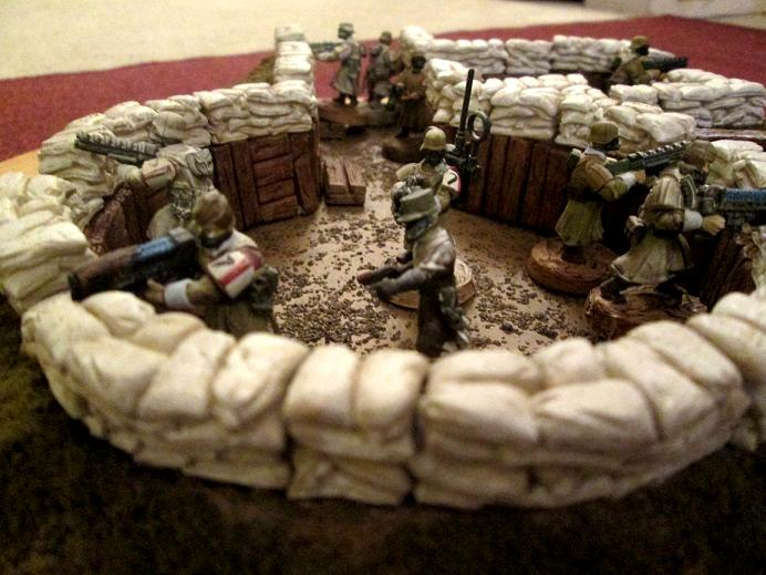 Aegis Line, Imperial Guard, Strong Point, Trench
