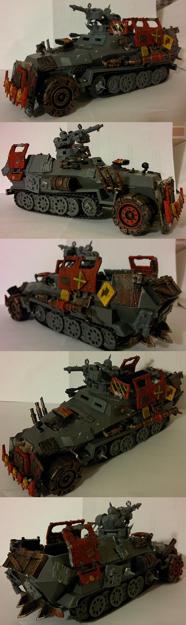 Armored Car, Germans, Nazi, Orks, Trukk