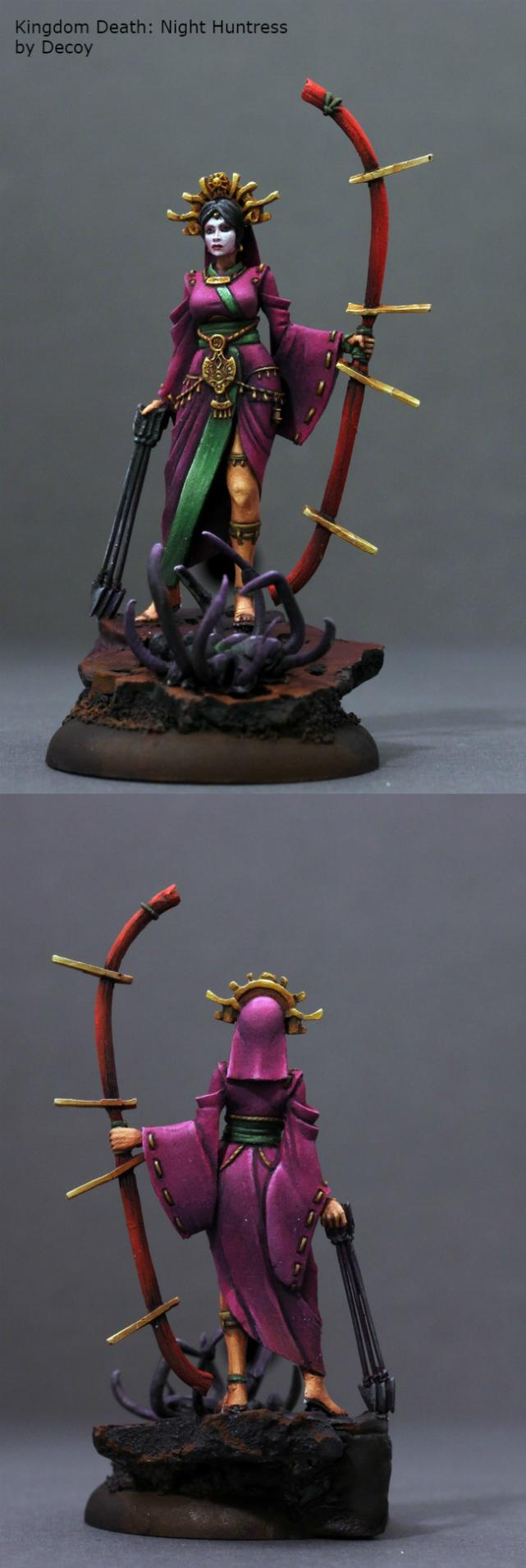 Archers, Boardgame, Chinese, Female, Kingdom Death, Miniature, Monster, Painting