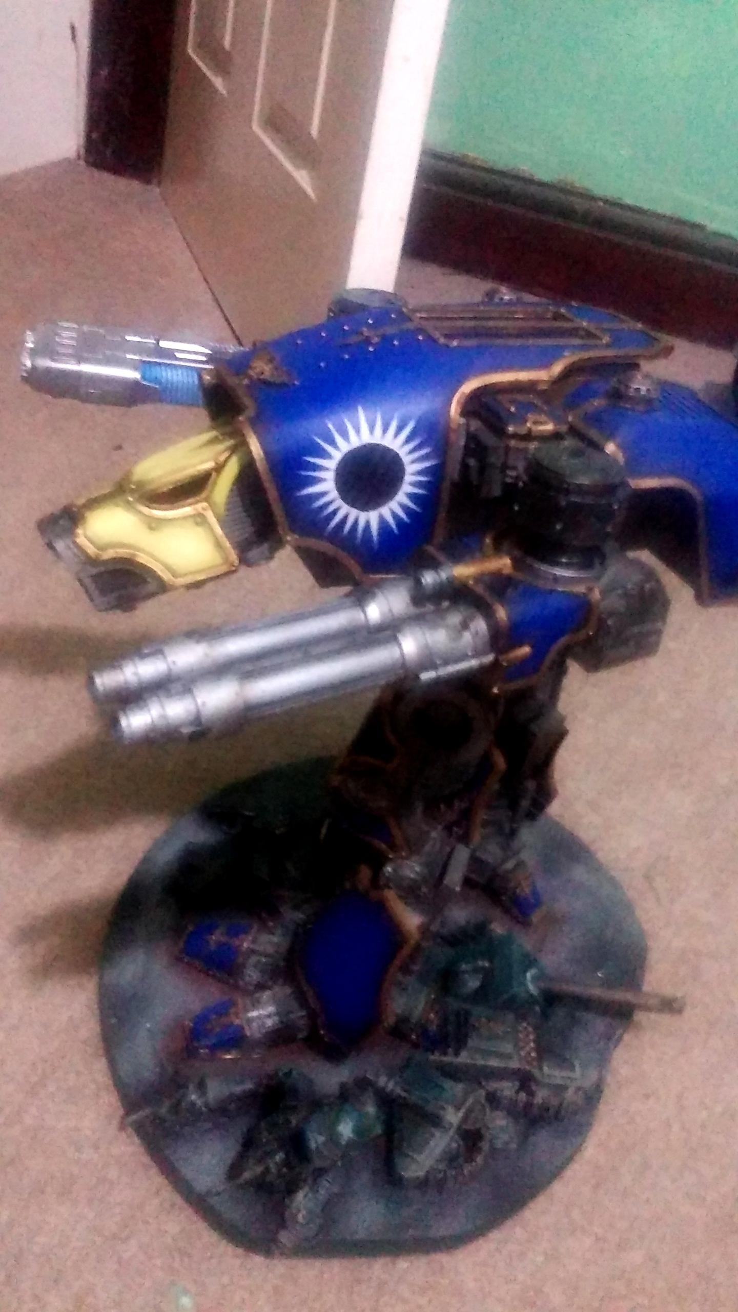 Adeptus Mechanicus, Forge World, Games Workshop, Titan, Warhammer 40,000, Warhound, Warp Runners