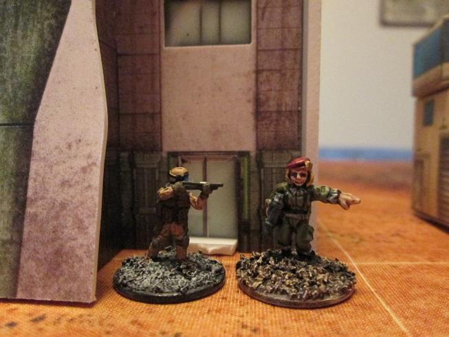 Rebel Minis and Ion Age copmared to the door