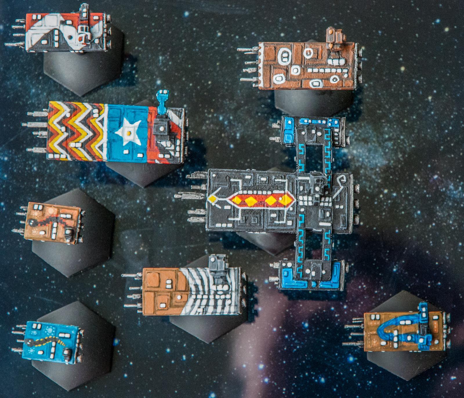 Battlecruisers, Cruiser, Destroyer, Frigates, Full Thrust, Ground Zero Games, Oceanic Union, Spaceships