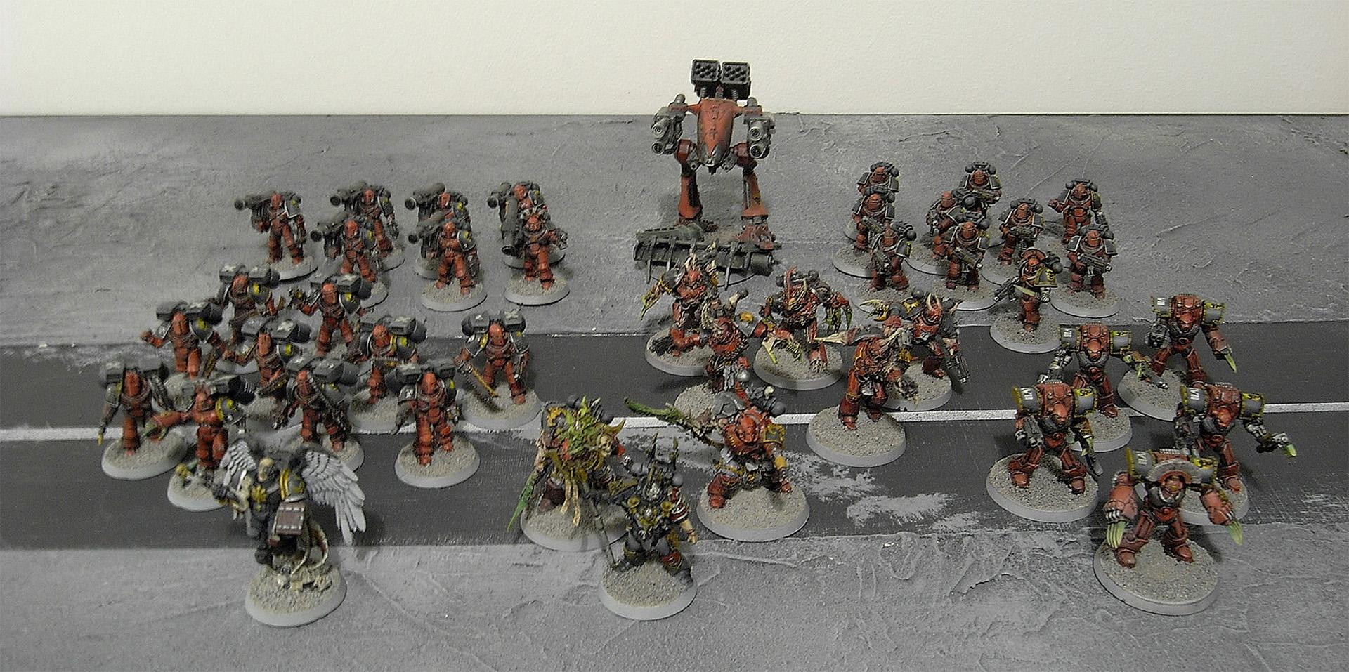 Army, Chaos, Chaos Space Marines, Space Marines, Word Bearers