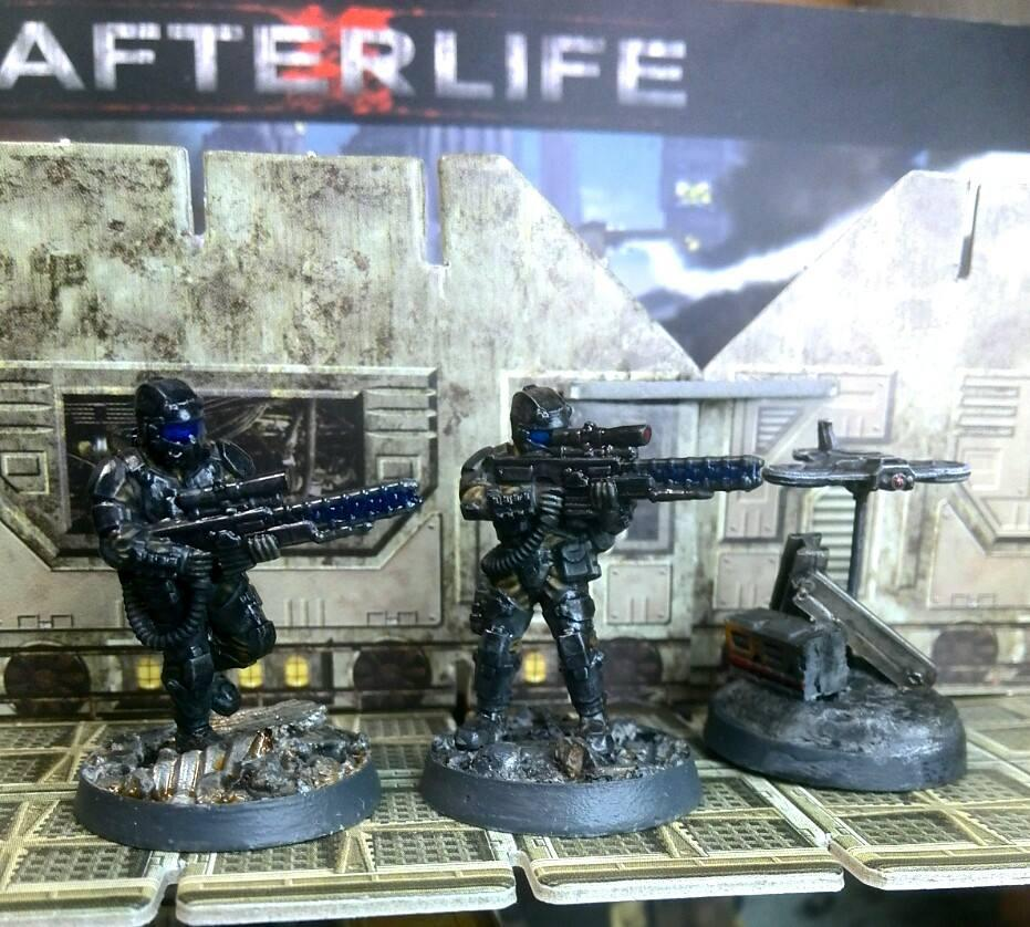 Afterlife, Anvil Industry, Republic, Snipers