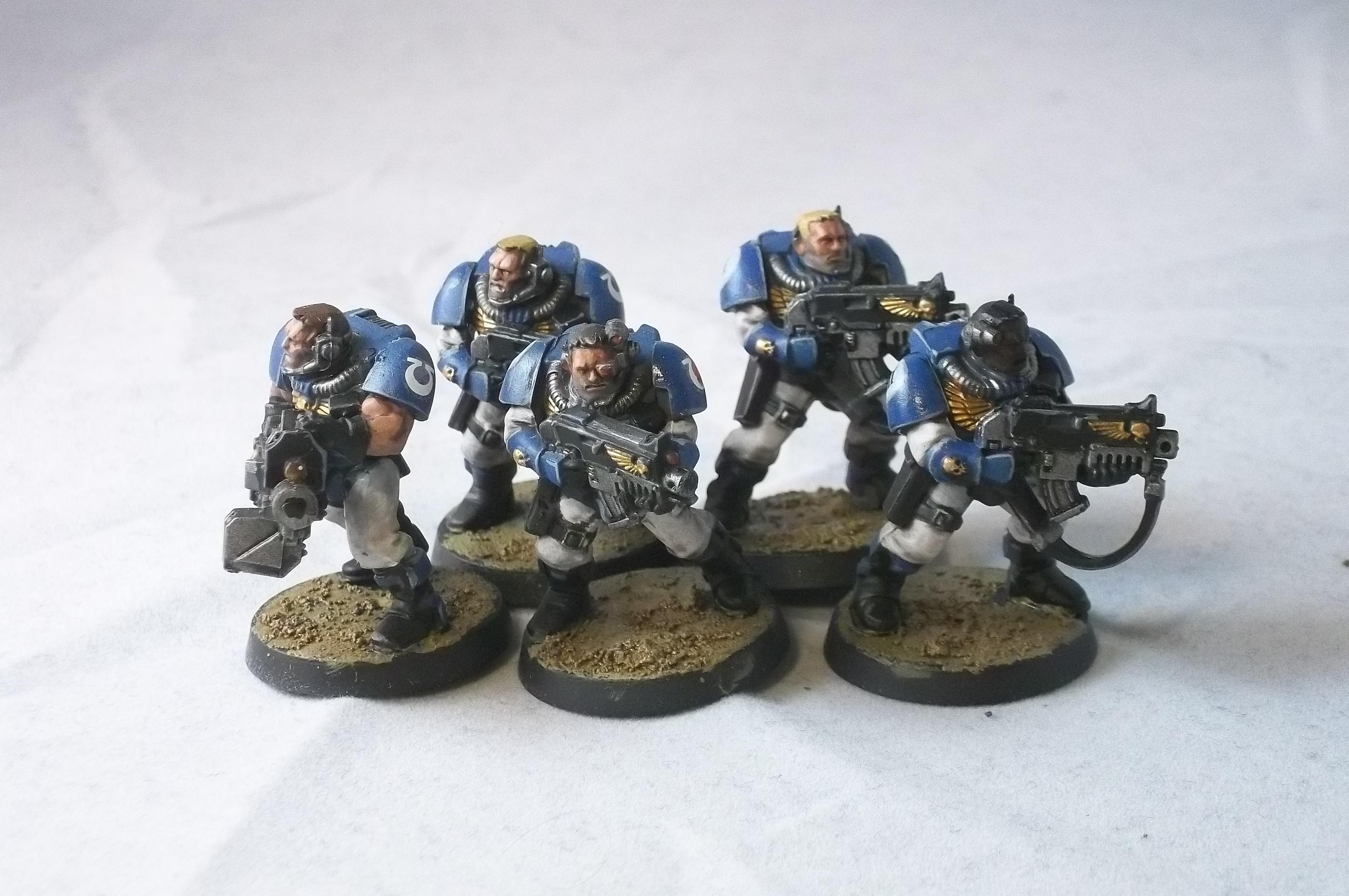 Scouts, Space Marines, Ultramarines