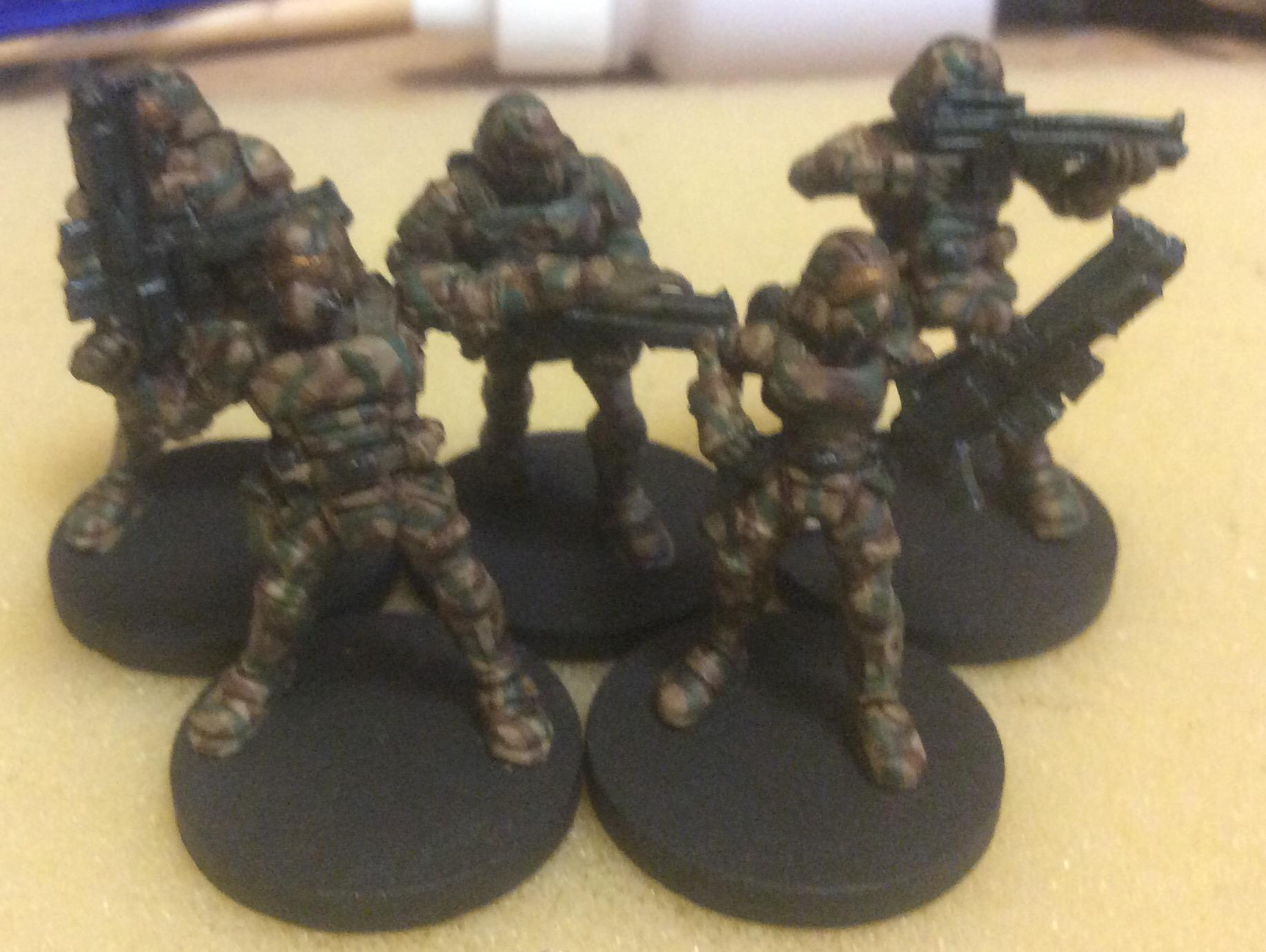 Bones, Camouflage, Reaper Miniatures, Science-fiction