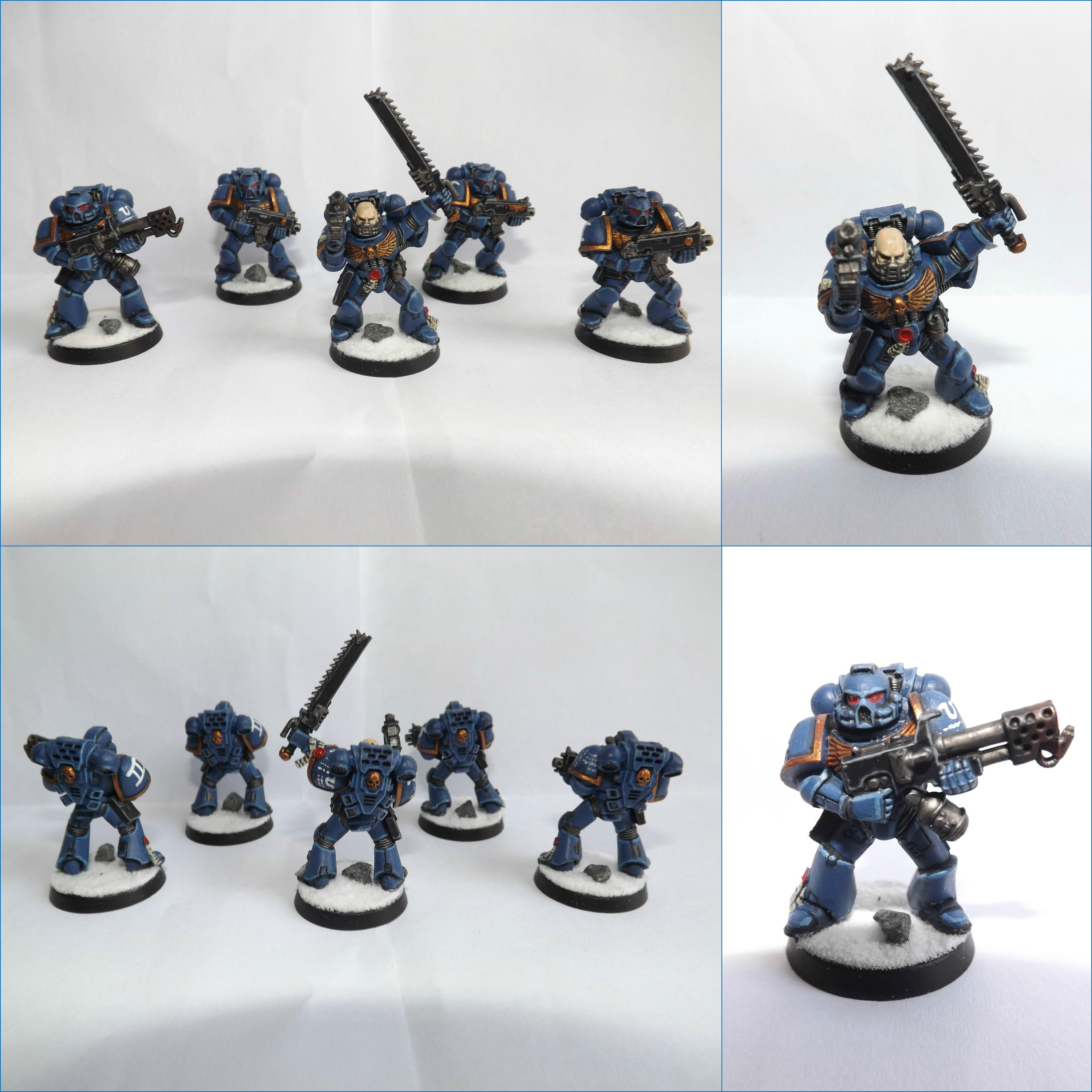 Space Marines, Tactical Squad, Ultramarines