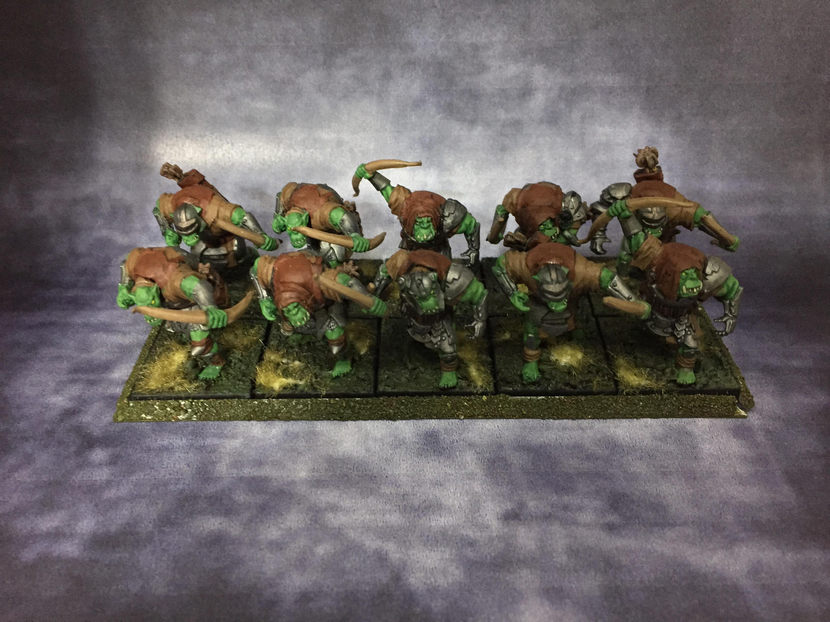 Archers, Bows, Mantic, March 2017, Orcs, Skulks