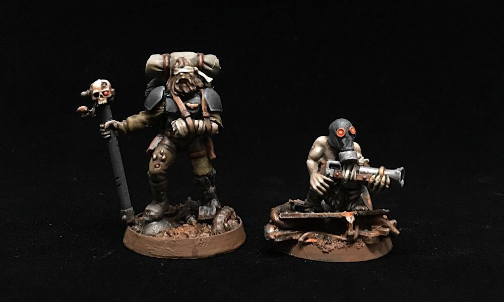 Beggar, Civilian, Conversion, Imperial Guard, Necromunda