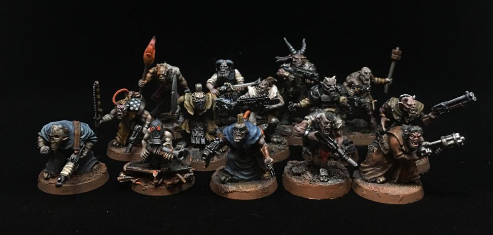Abhumans, Conversion, Mutant, Necromunda