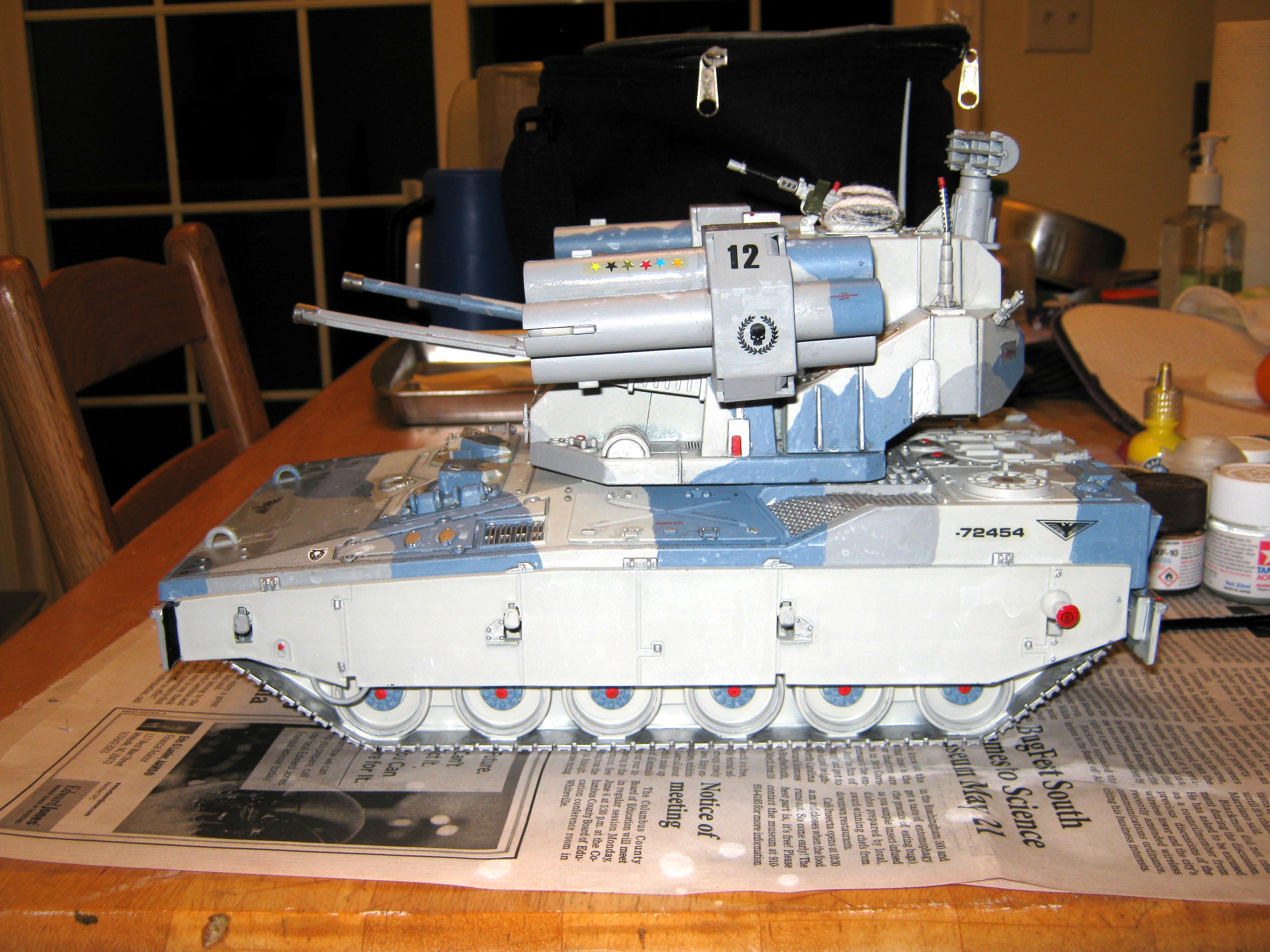 Adv, Afv, Air Defense Vehicle, Anti-aircraft, Artillery, Conversion, G.i. Joe, Imperial, Self Propelled, Super-heavy, Tank, Toy