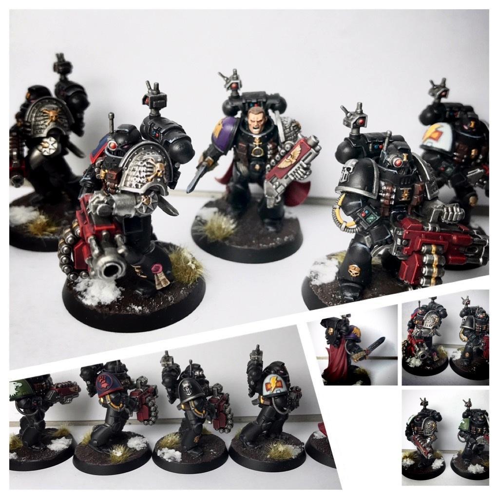 Deathwatch, Killteam, Raptors, Silver Skulls, Space Marines