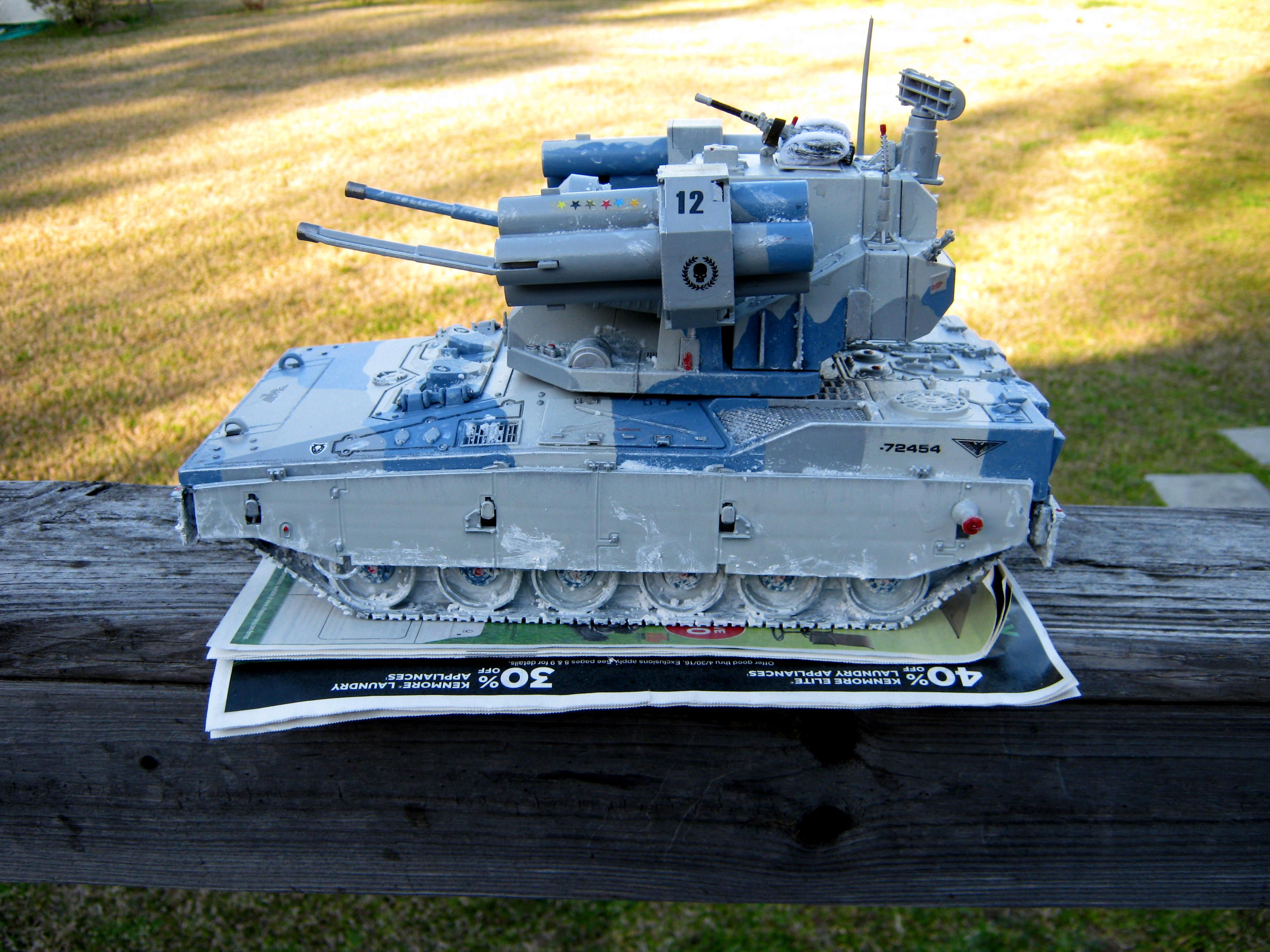 Adv, Afv, Air Defense Vehicle, Anti-aircraft, Artillery, Conversion, Equalizer, G.i. Joe, Imperial, Self-propelled, Super-heavy, Tank, Toy