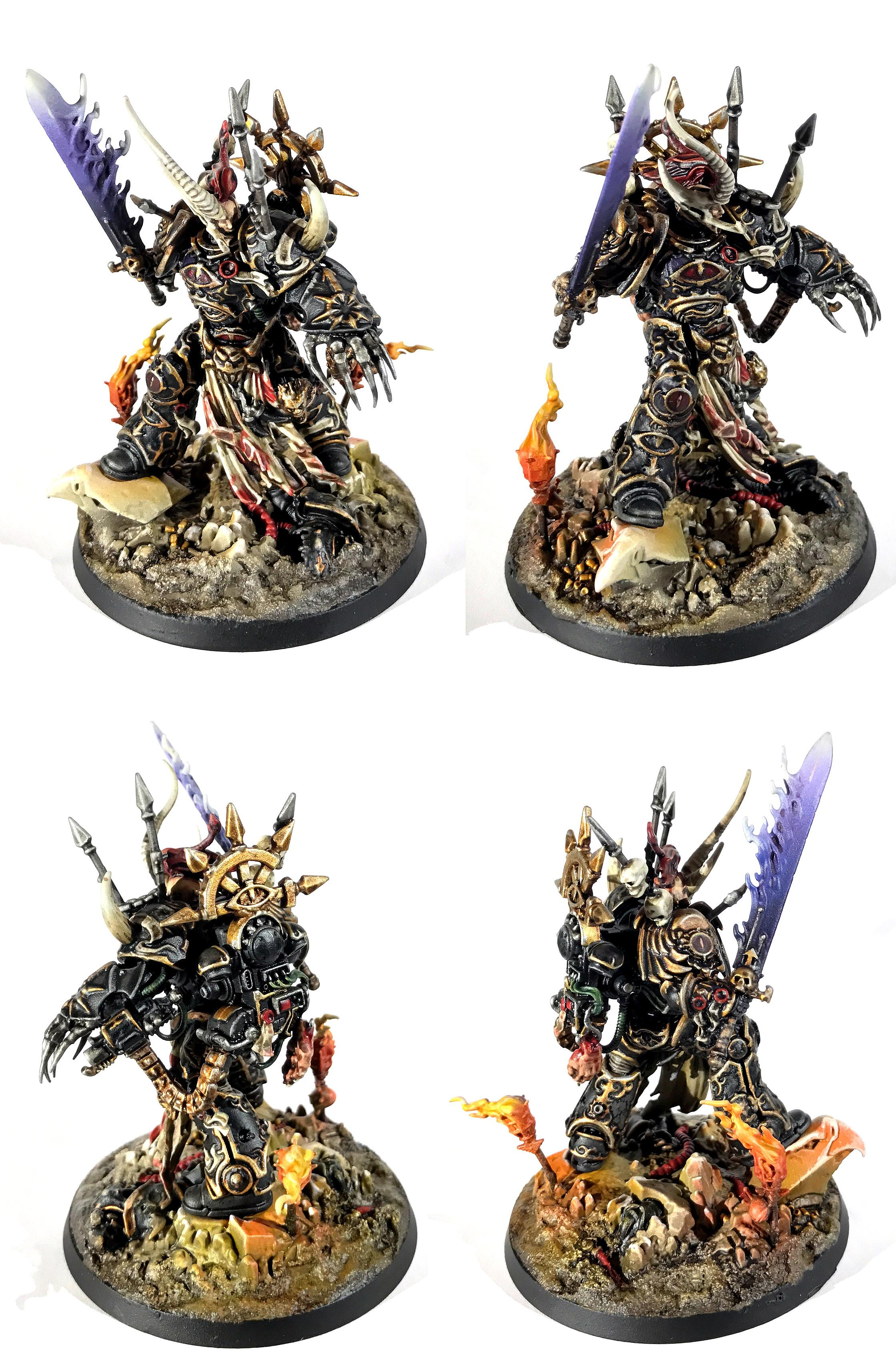 Abaddon, Chaos, Conversion, Marine Abuse, Roboute Guilliman, Warhammer 40,000