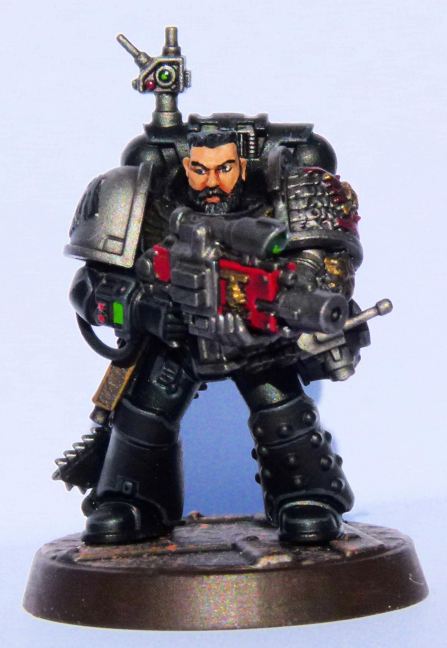 Knights of the Raven Deathwatch Veteran Front