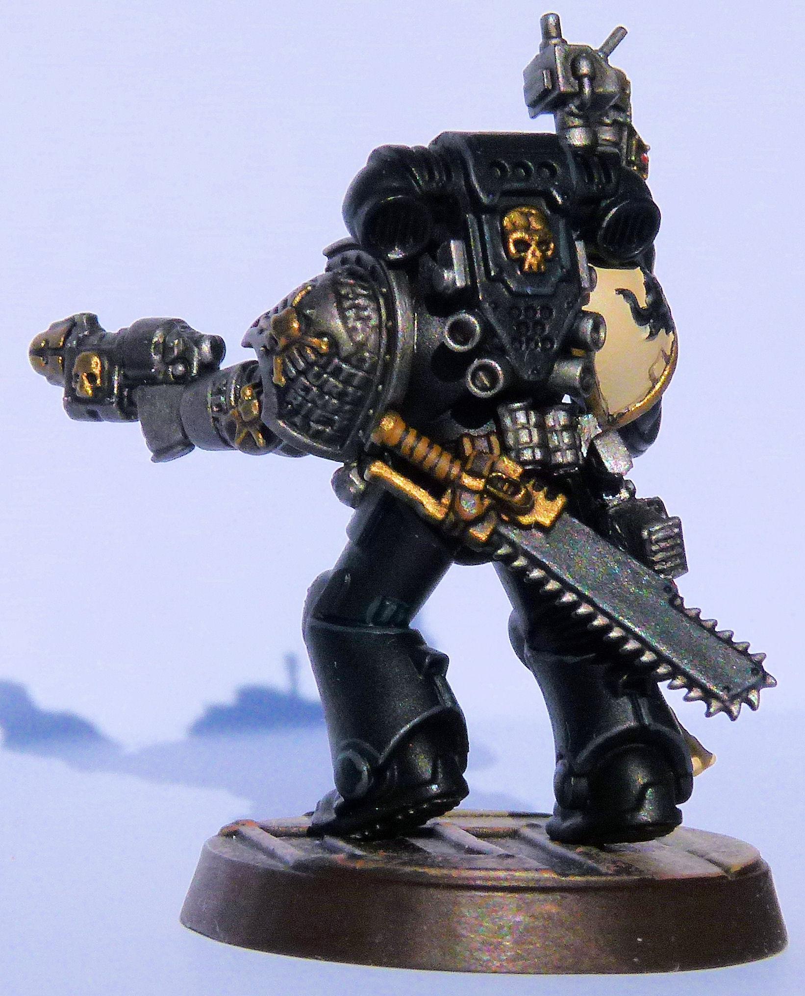 Brazen Minotaurs Deathwatch Veteran Rear Left