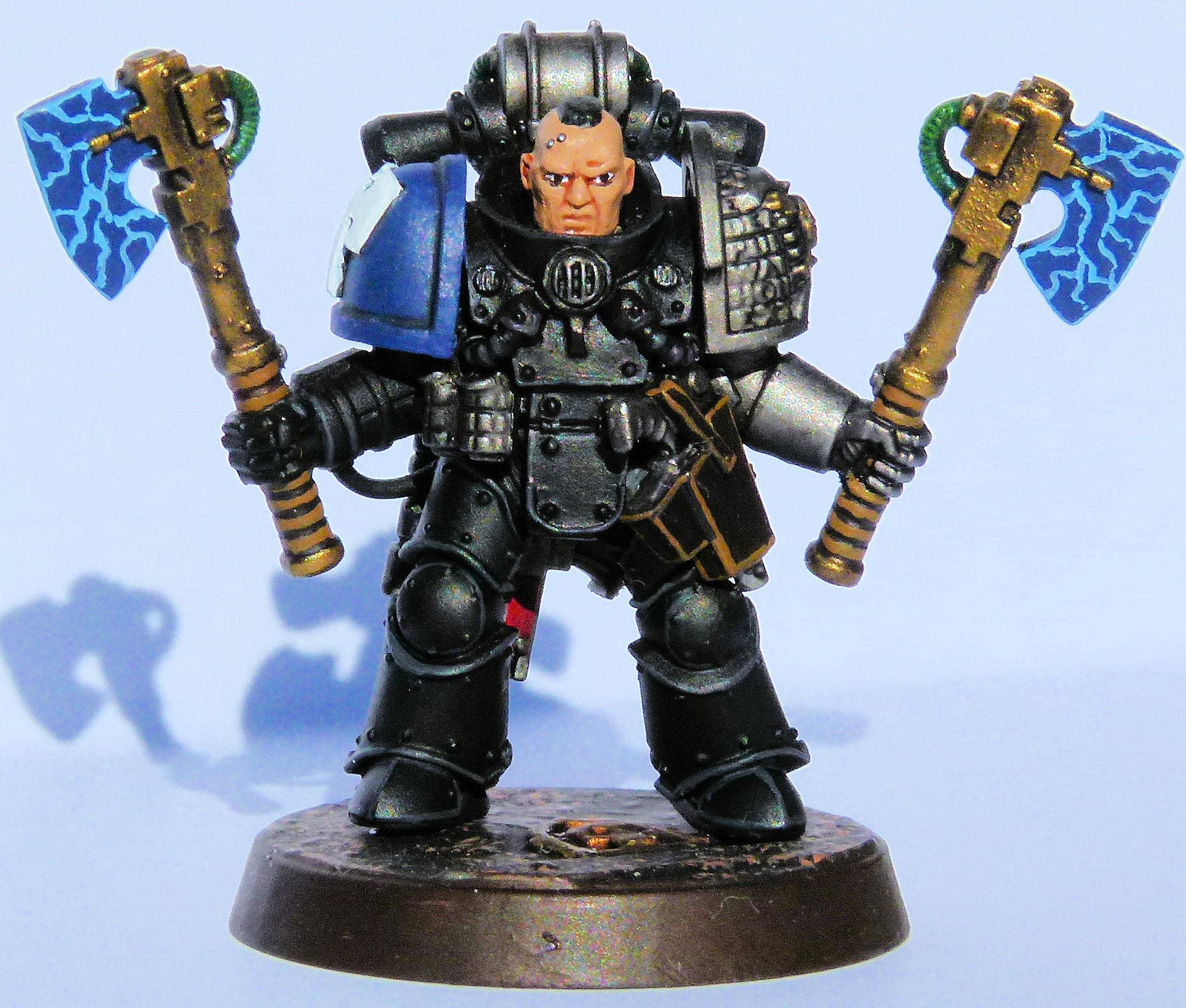 Dark Hunters Deathwatch Veteran Front