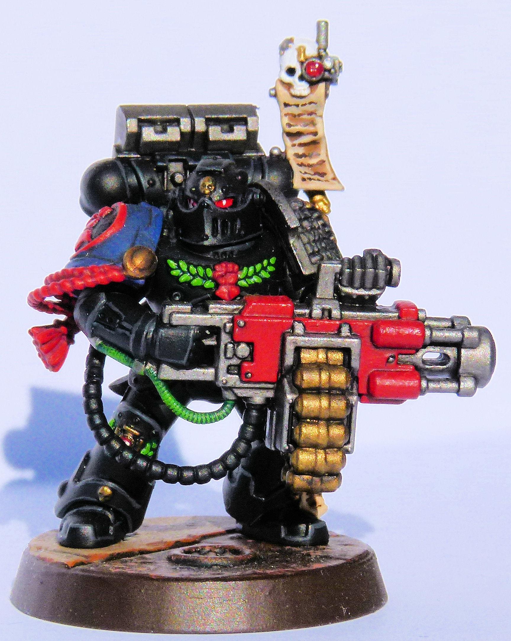 Crimson Fist Deathwatch Veteran Front