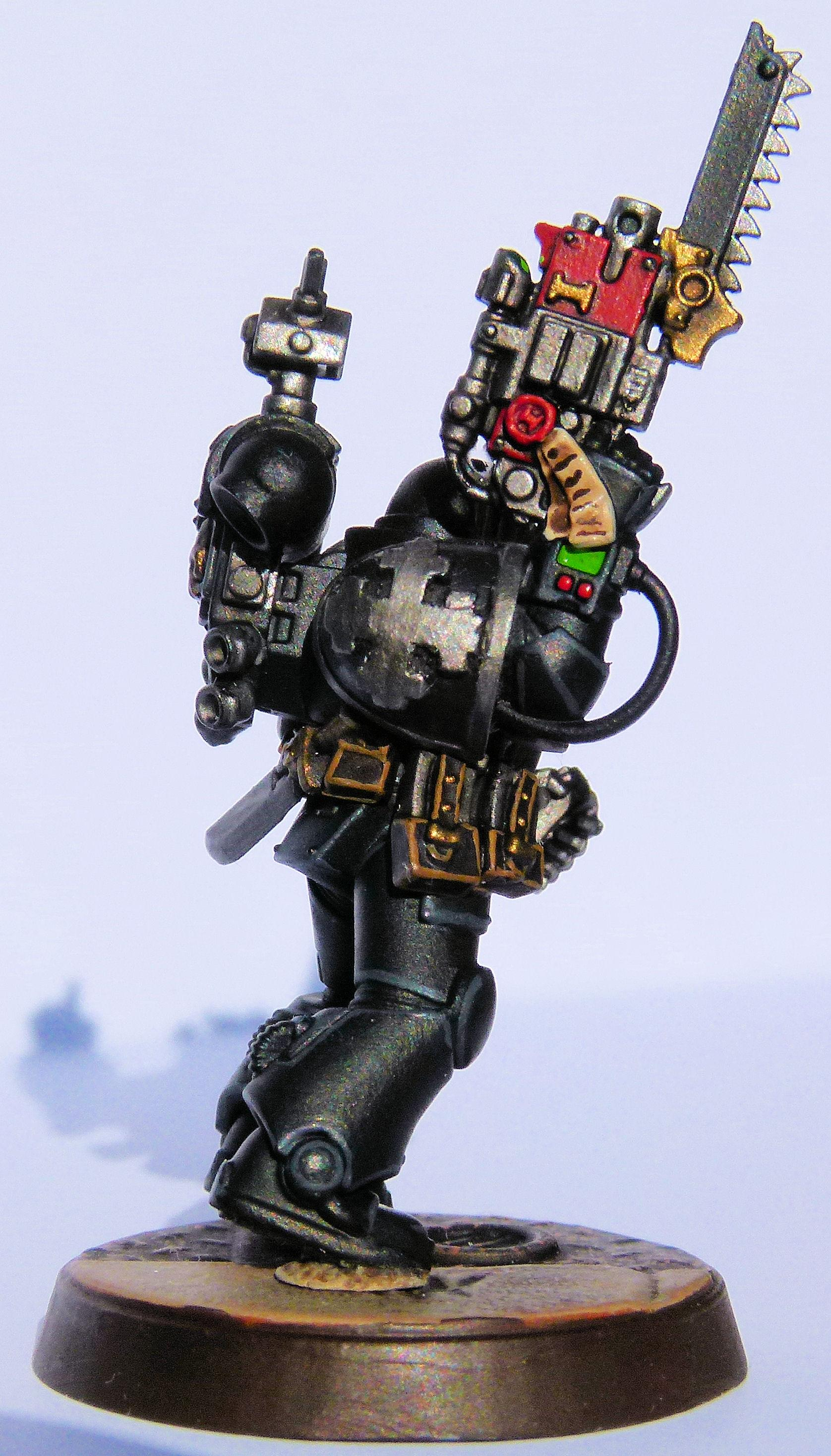 Iron Knights Deathwatch Veteran Right