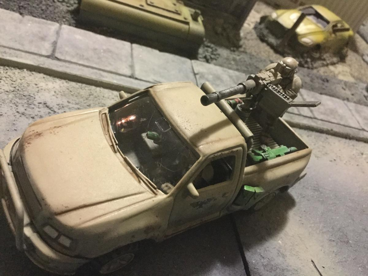 Astra Militarum, Heavy Weapon, Imperial Technical, Kit Bash
