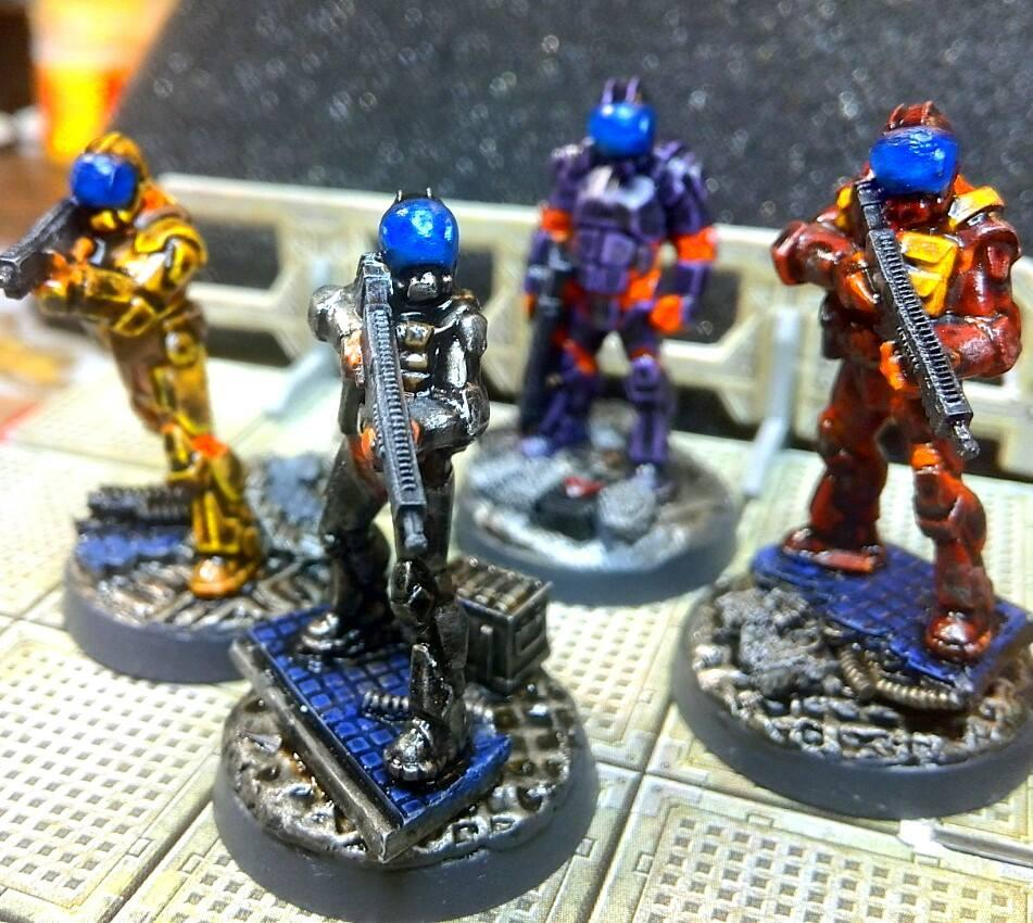 Hasslefree, Hasslefree Miniatures, The Five Eight