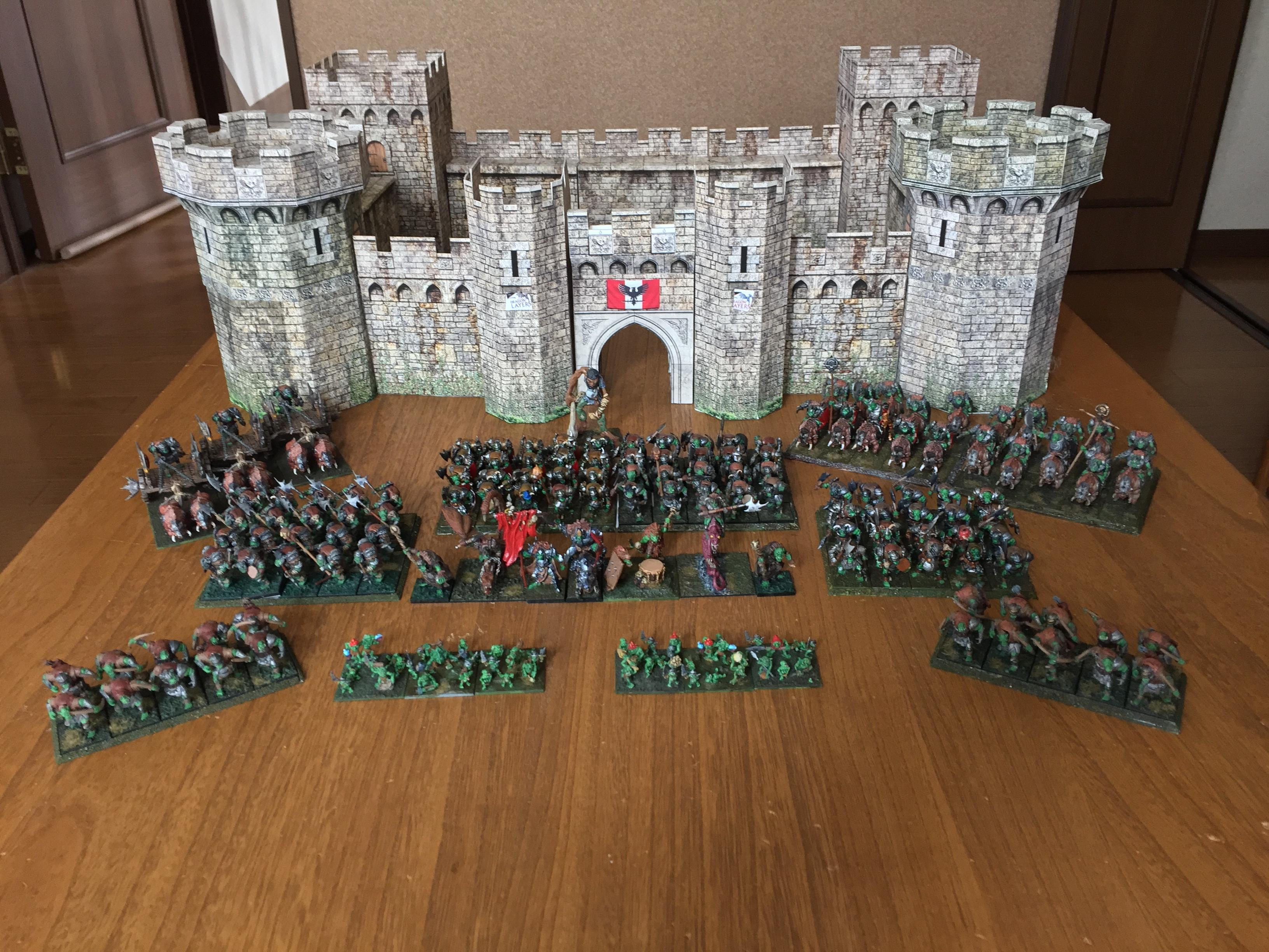 Army, Mantic, March 2017, Orcs
