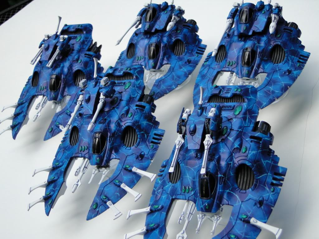 Eldar, Falcon, Warhammer Fantasy, Wave Serpent