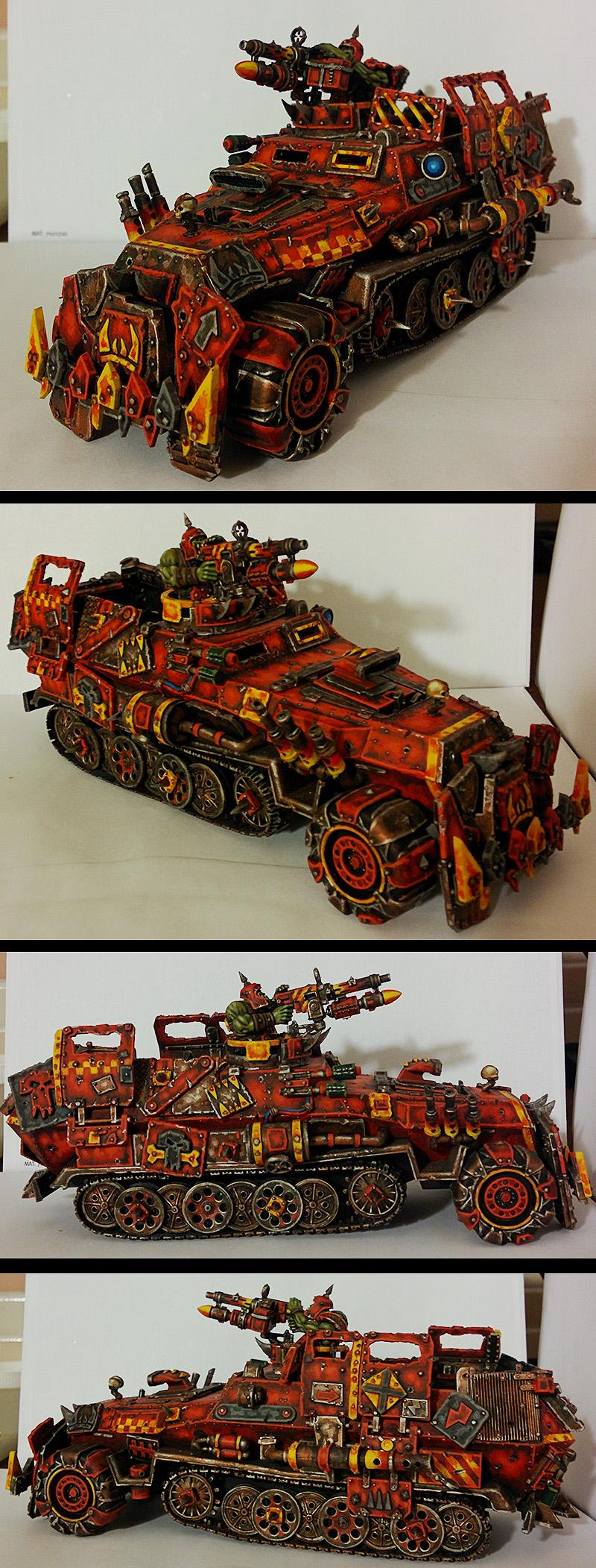 Armored Car, Conversion, Germans, Orks, Trukk