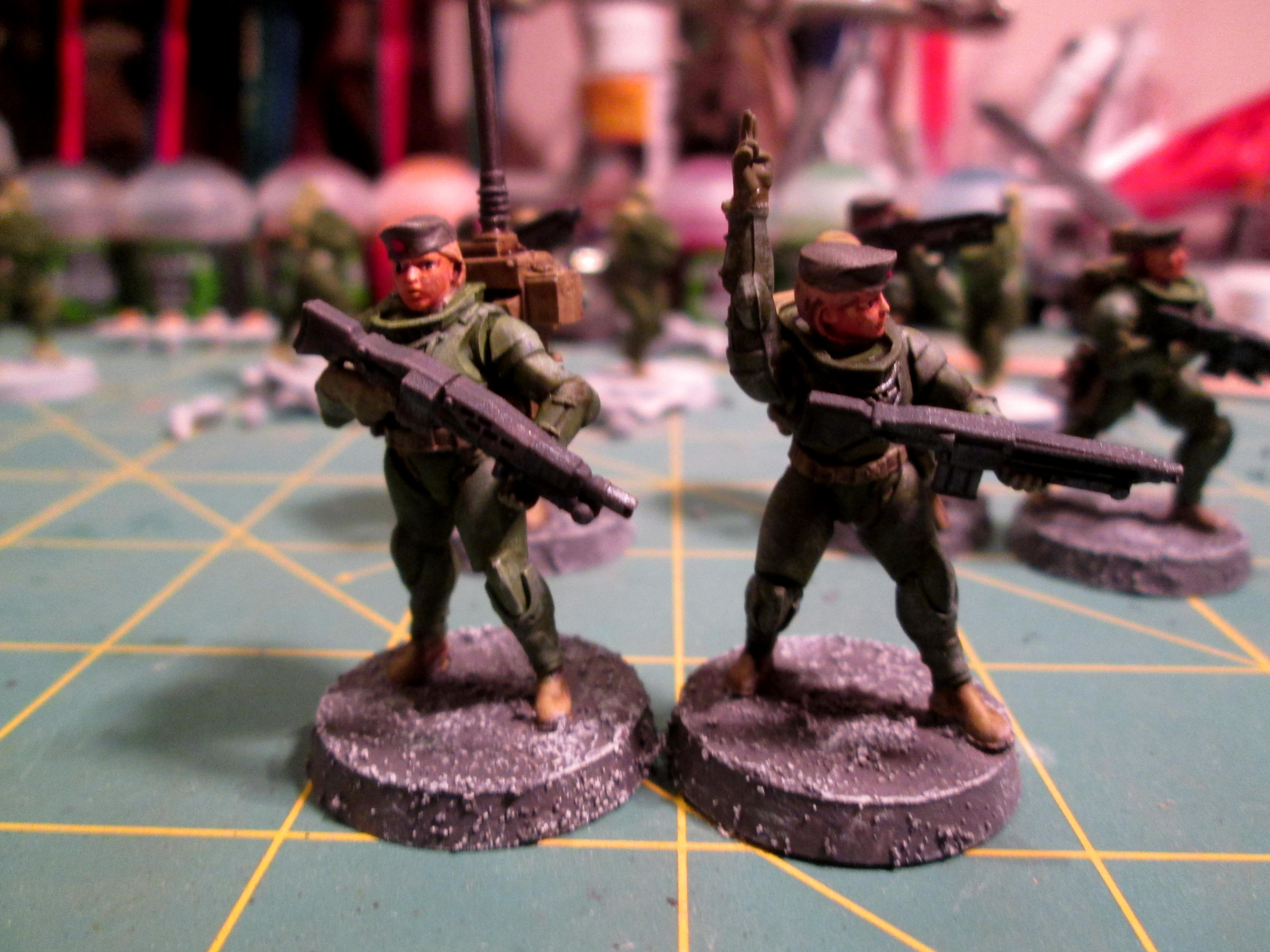 Dreamforge, Female, Grenadiers, Imperial Guard, Panzerjeagers
