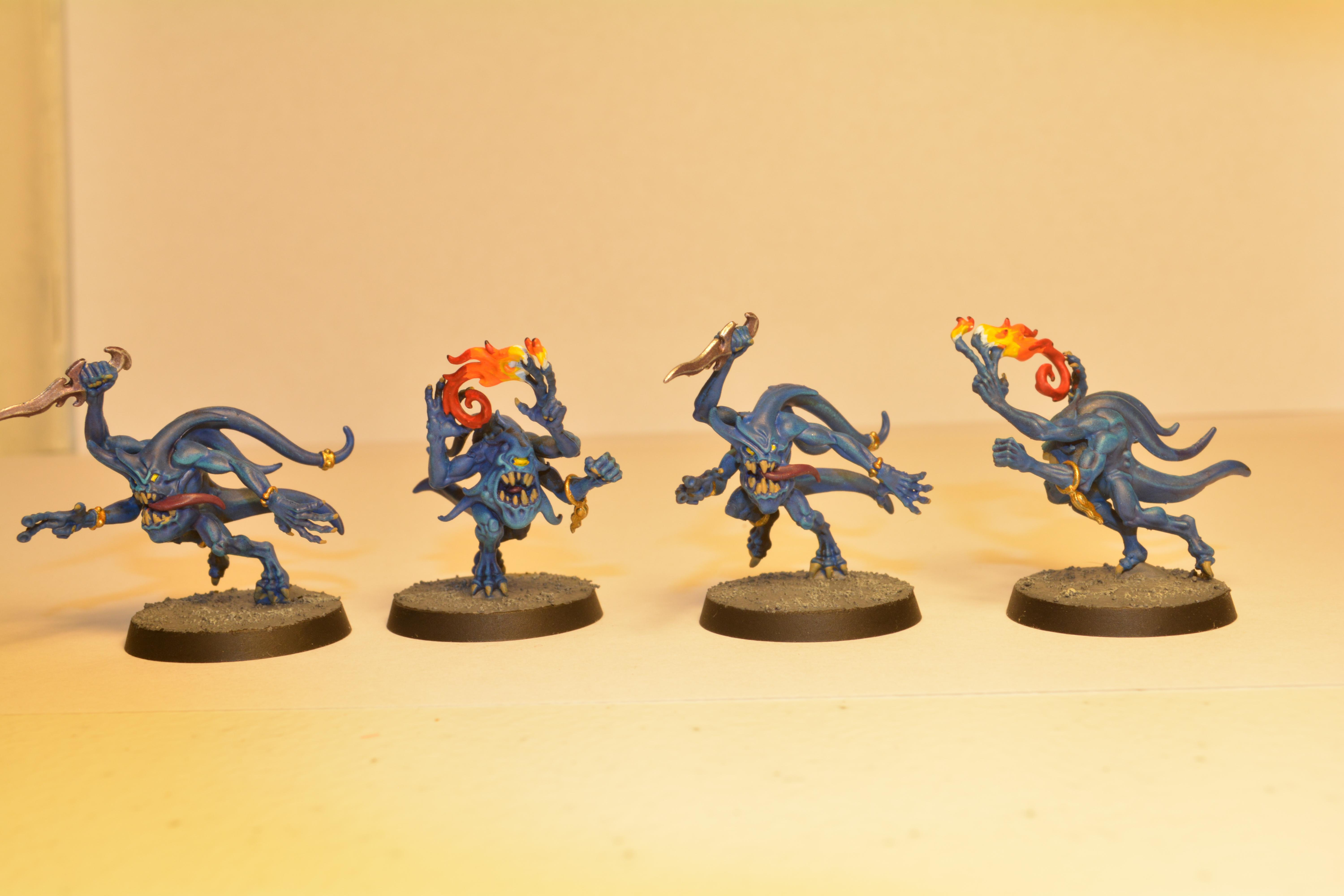 Blue Horrors, Silver Tower