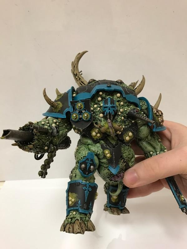 Chaos, Gross, Imperial Knight, Nurgle, Possessed