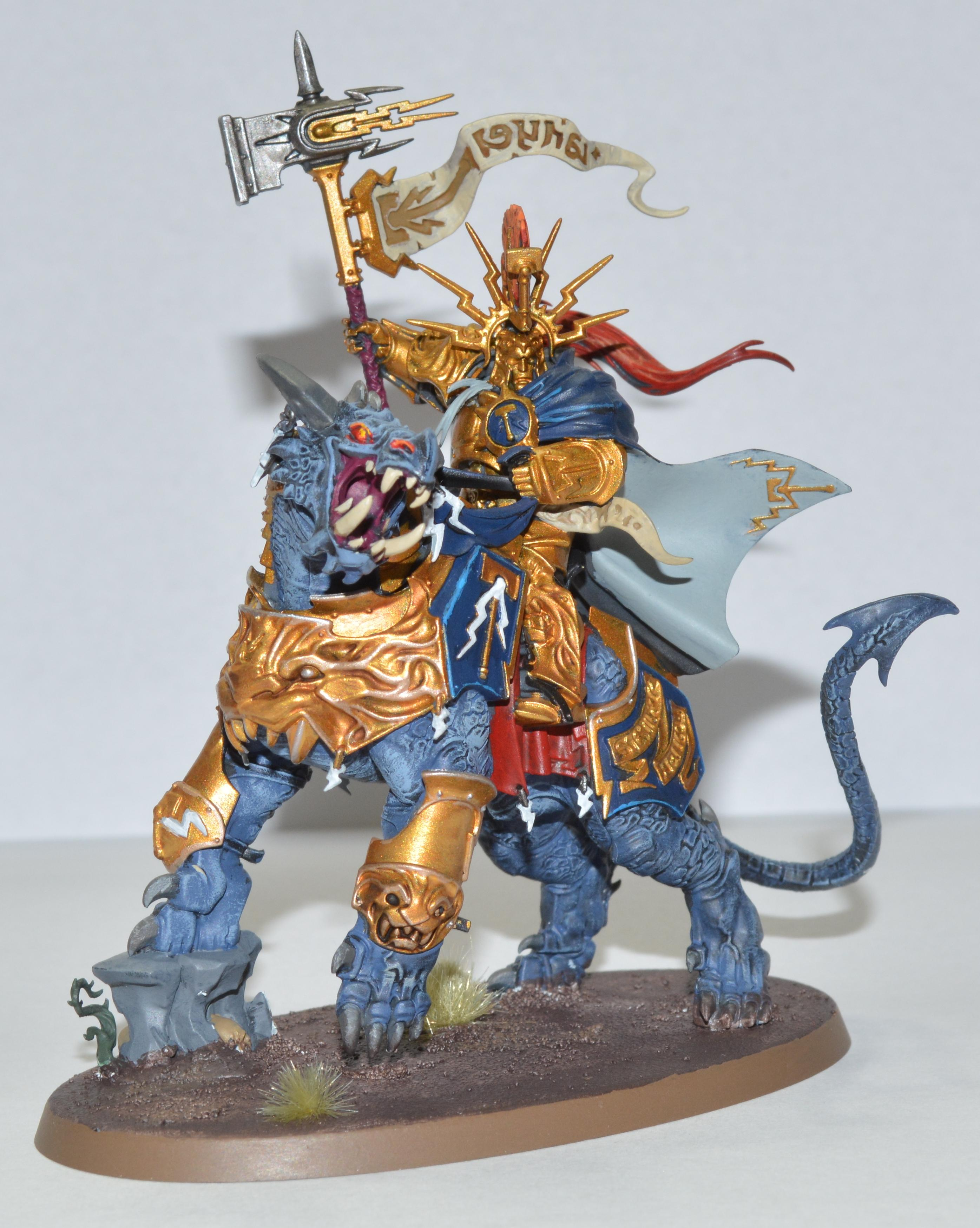 Lord-celestant On Dracoth, Stormcast Eternals