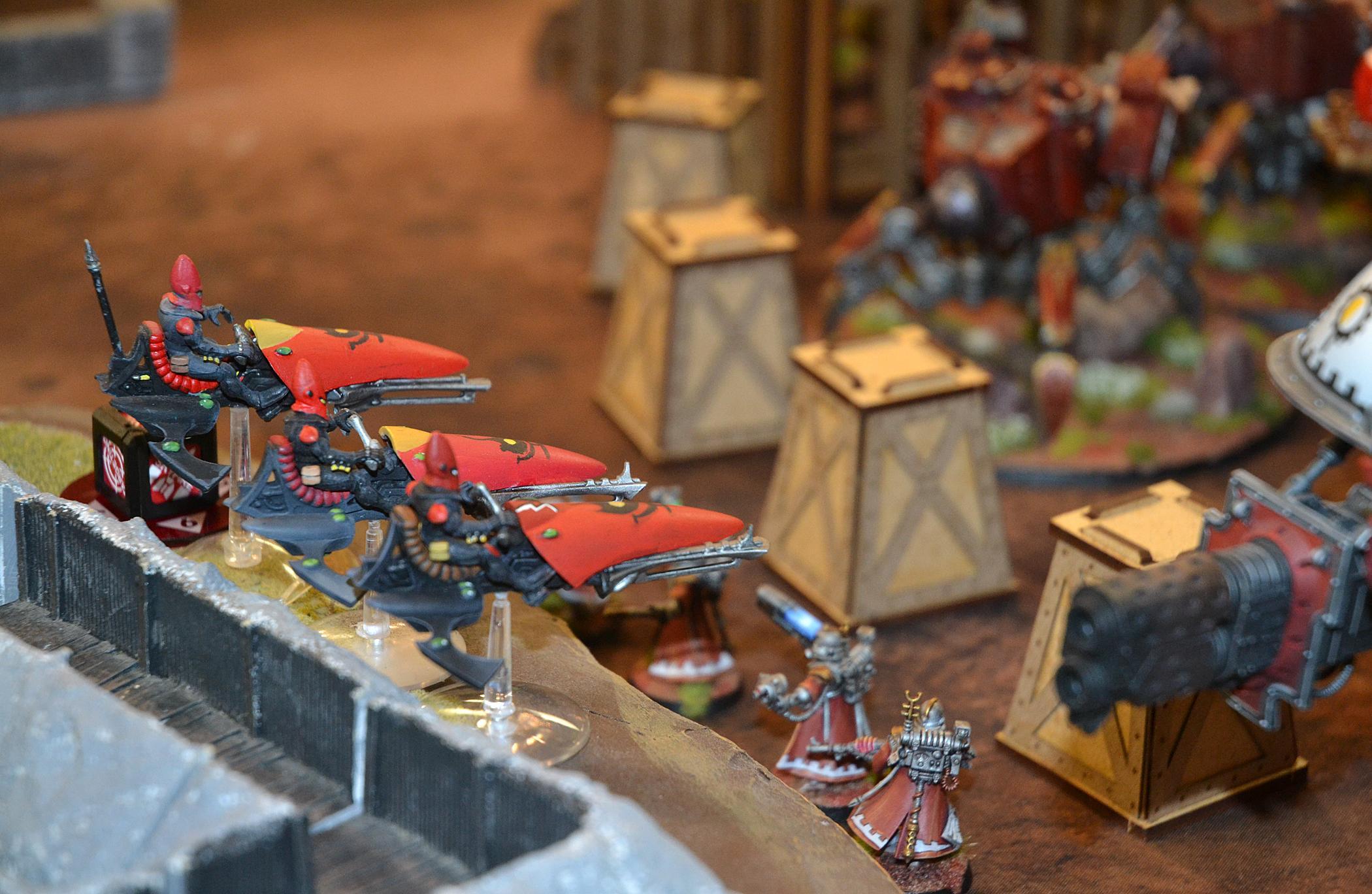 Eldar, Mechanicus, Warhammer 40,000