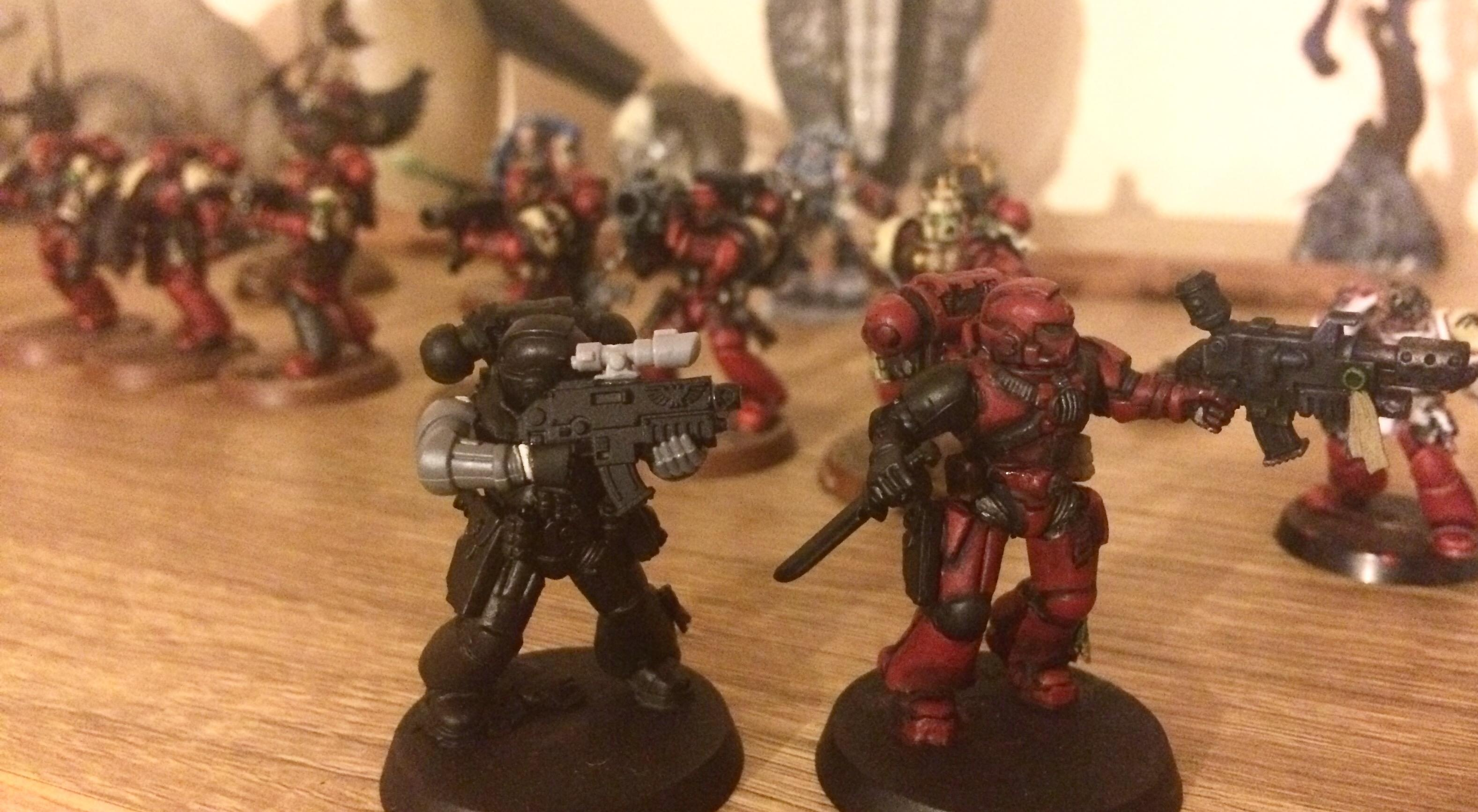Art Scale, Blood Ravens, Conversion, Converting, Kitbash, Space Marines, True-scale