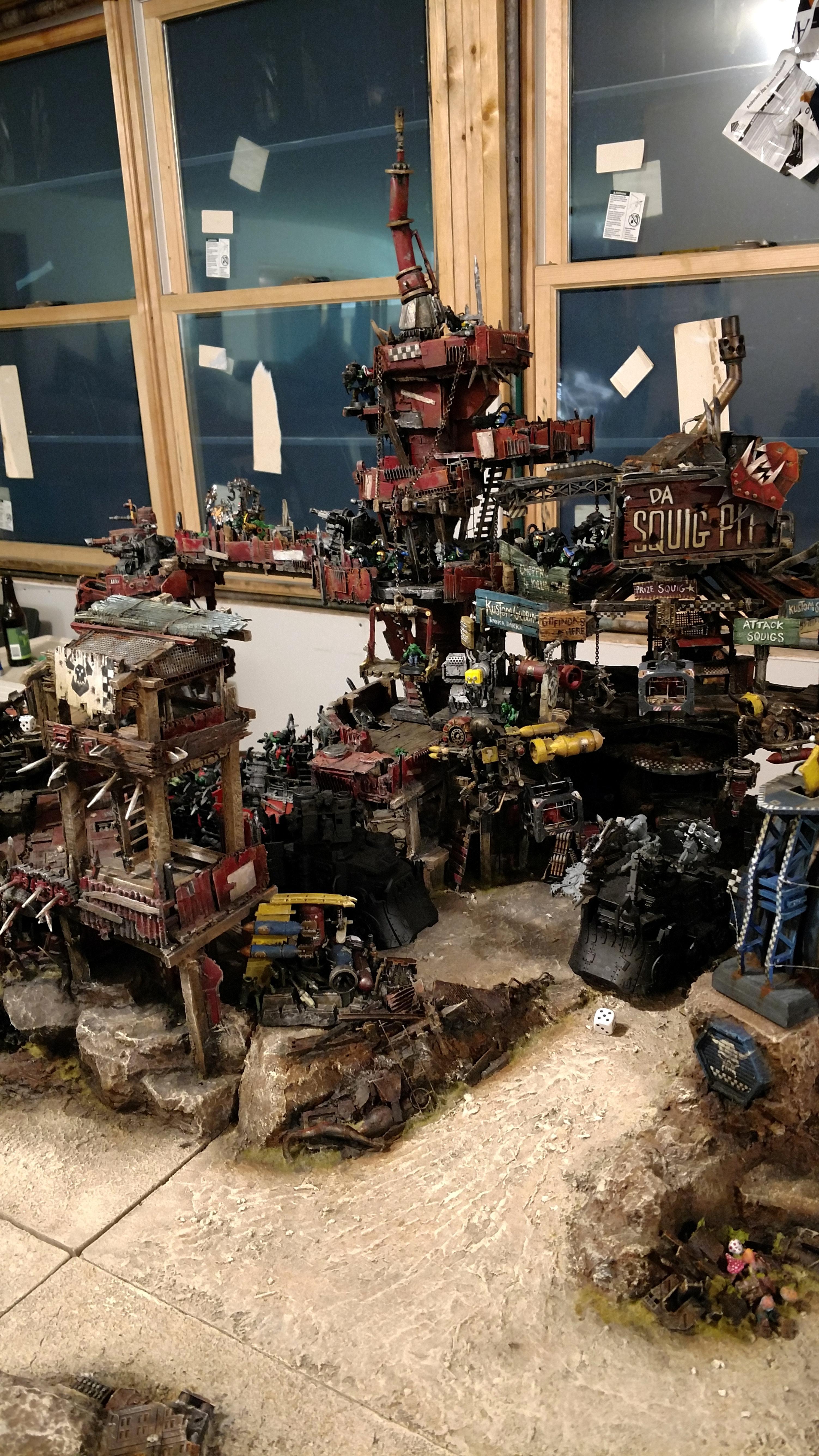 Ork Fort, Orks, Waaagh, Warhammer 40,000